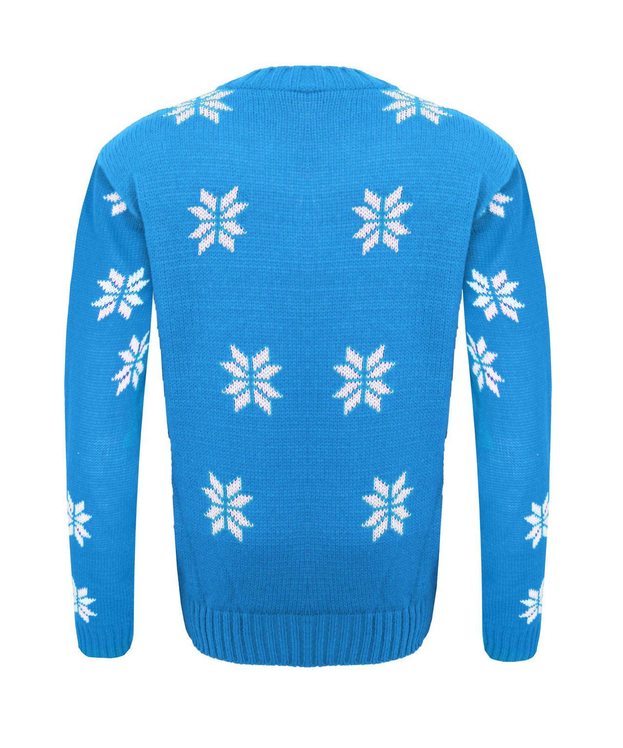 Kids Boy Girl Knitted Christmas Xmas Olaf Minion Chunky ...