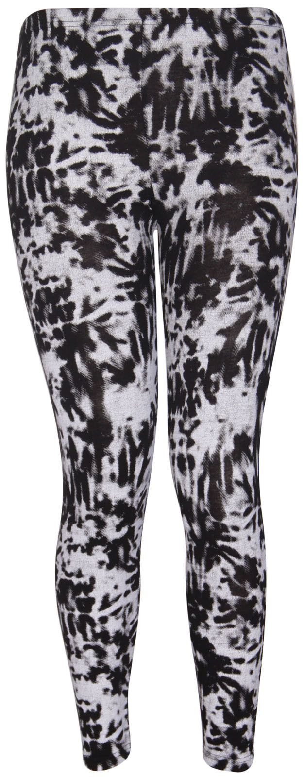 Plus Size Tie Dye Leggings