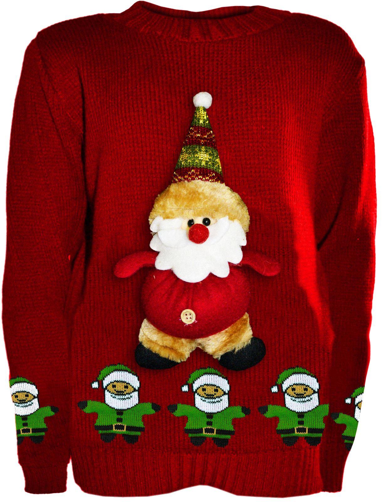 new boys girls kids novelty christmas jumpers knitted 3d. Black Bedroom Furniture Sets. Home Design Ideas