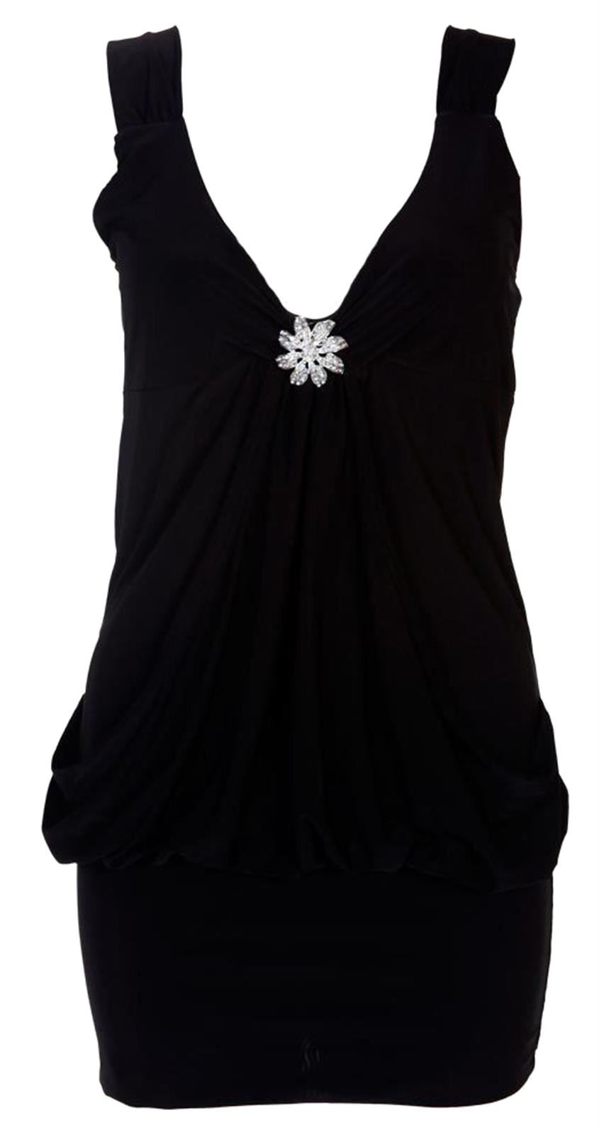 New Ladies Plus Size Mini Going Out Club Wear Broached Dress 8-22