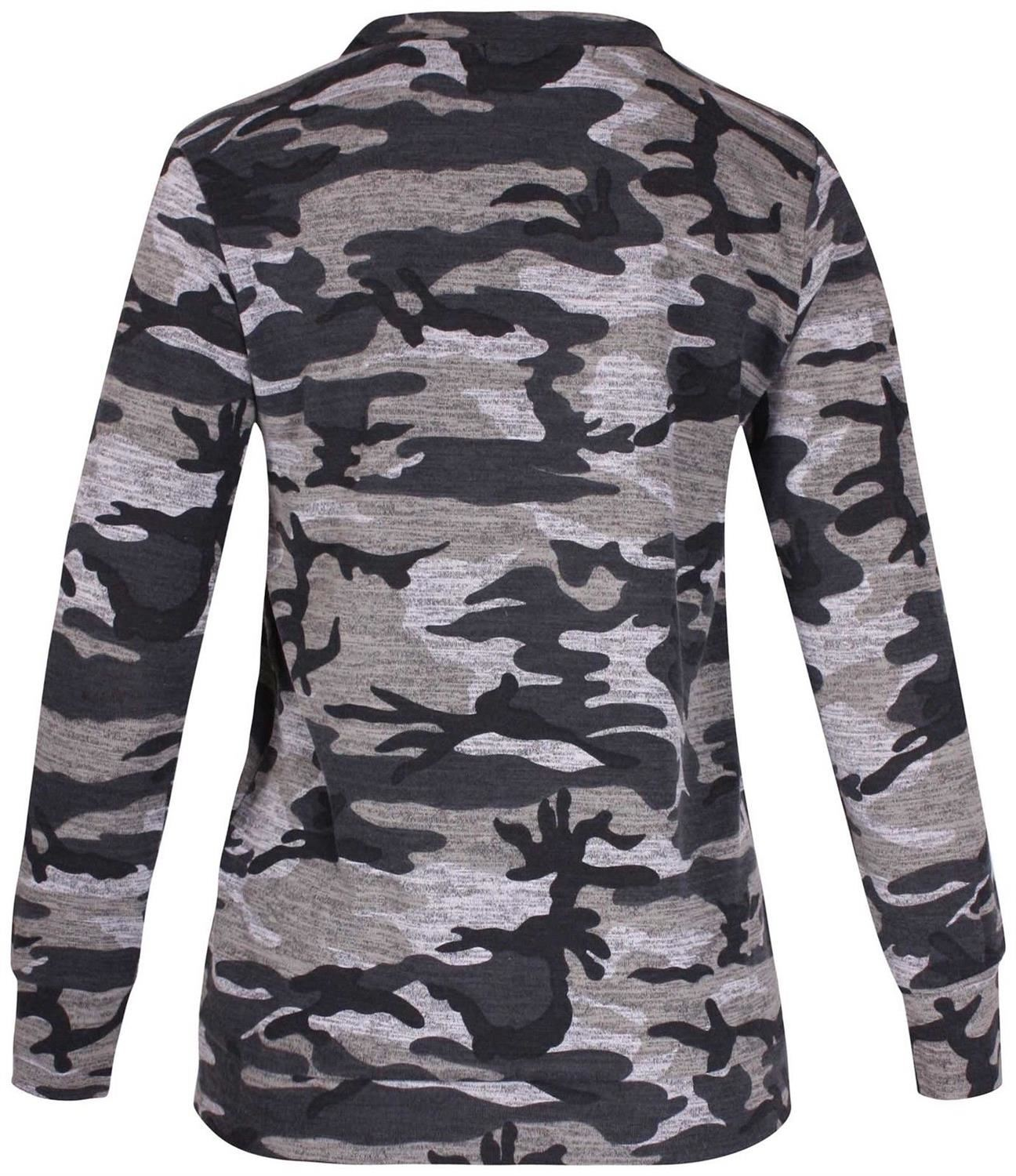 New-Womens-Plus-Size-Army-Sweatshirt-Top-Jogging-Bottom-Tracksuit-Set-16-28 thumbnail 5