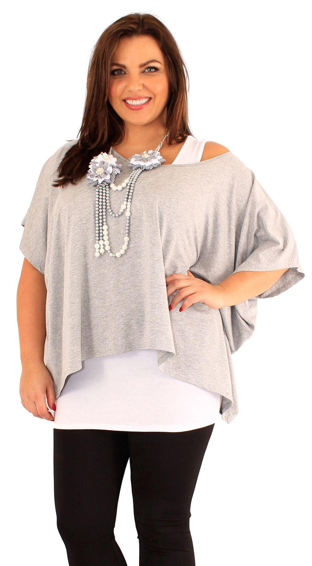 These plus size tops and tees sized S to 7X and 12 through 48 fit your curves. Shop basic, embellished, printed or patterned tunics, popovers or button-front styles in woven cotton or knit blends. Designed by the most plus size brands available in one place.