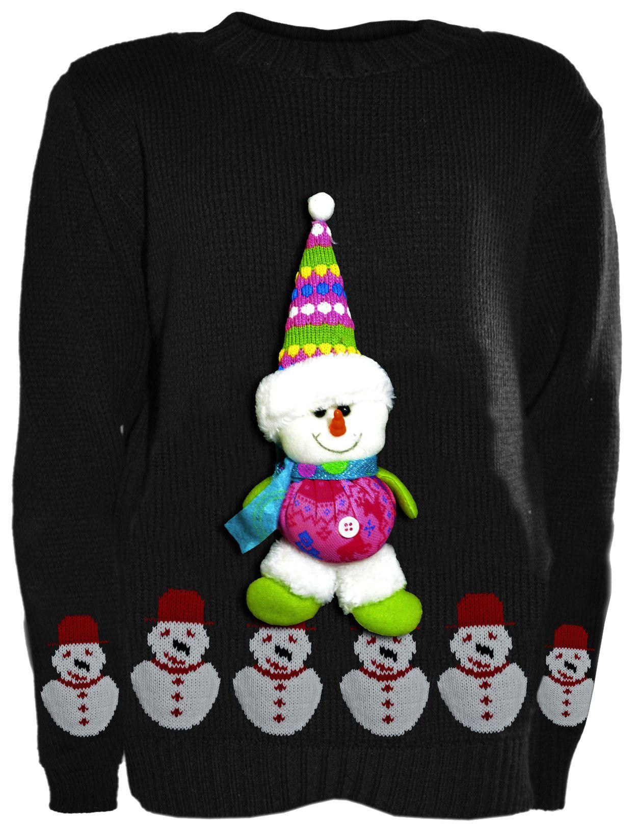 new boys girls kids novelty christmas jumpers knitted3d. Black Bedroom Furniture Sets. Home Design Ideas