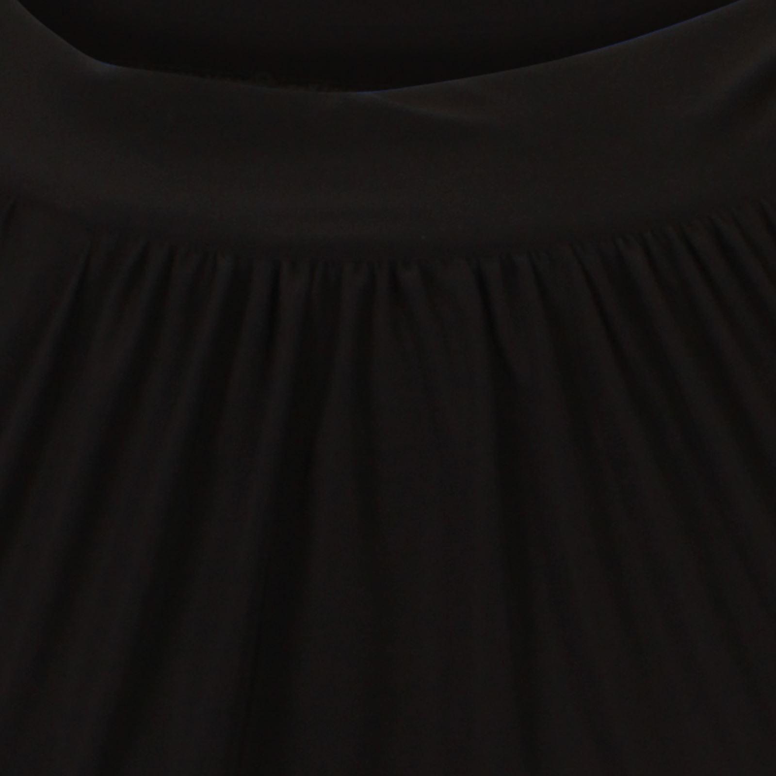 New Womens Halter Neck Ties Chiffon Blouse Gathering Hem Top 8-22