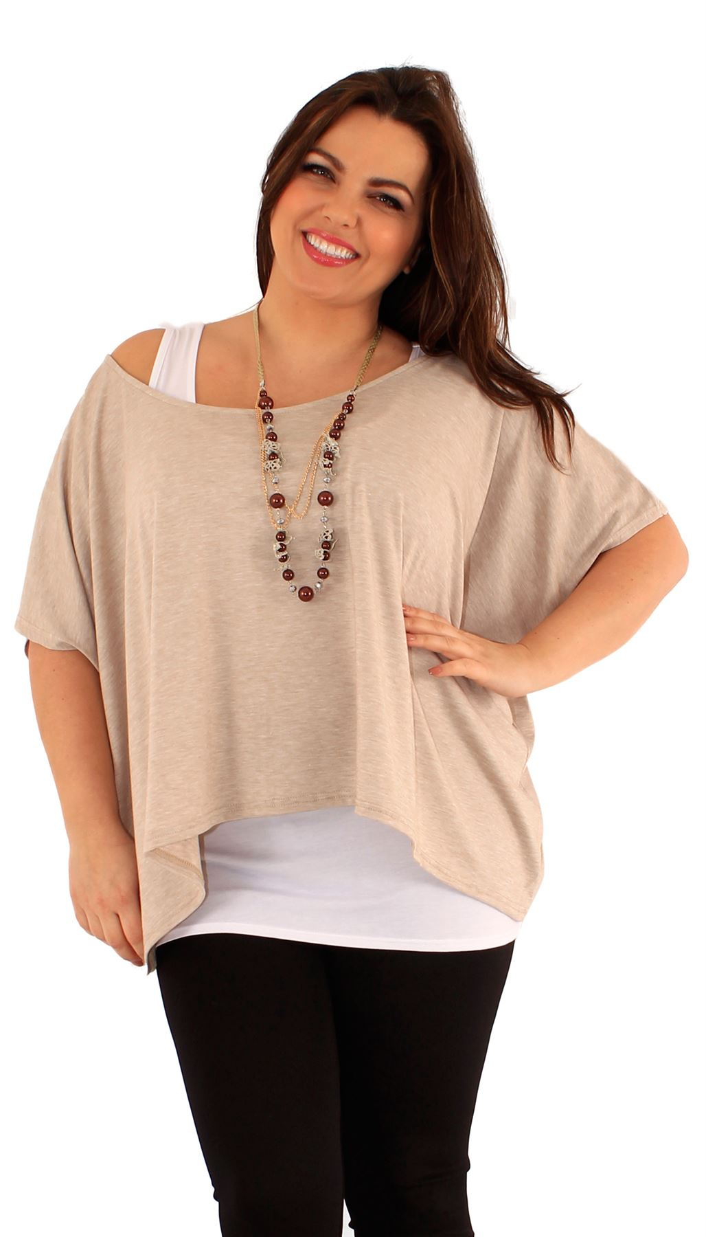 Shop dressbarn for the latest in plus size tops. You'll discover on trend styles in a variety of patterns and prints that can be worn for any occasion. Add some extra flair to your weekend or workwear wardrobe with plus size tops.