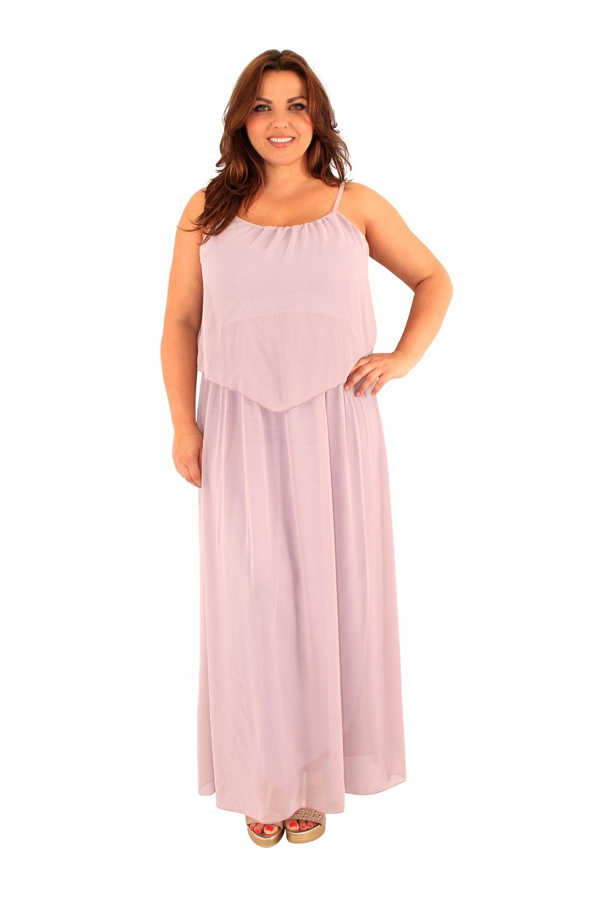 Chiffon maxi dress 16