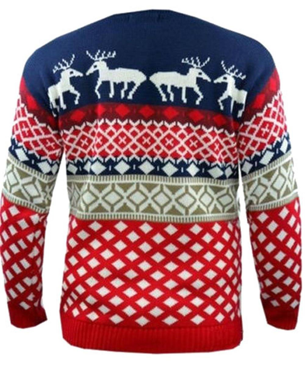 Novelty christmas jumpers long sleeve knitwear sweater top s xl ebay