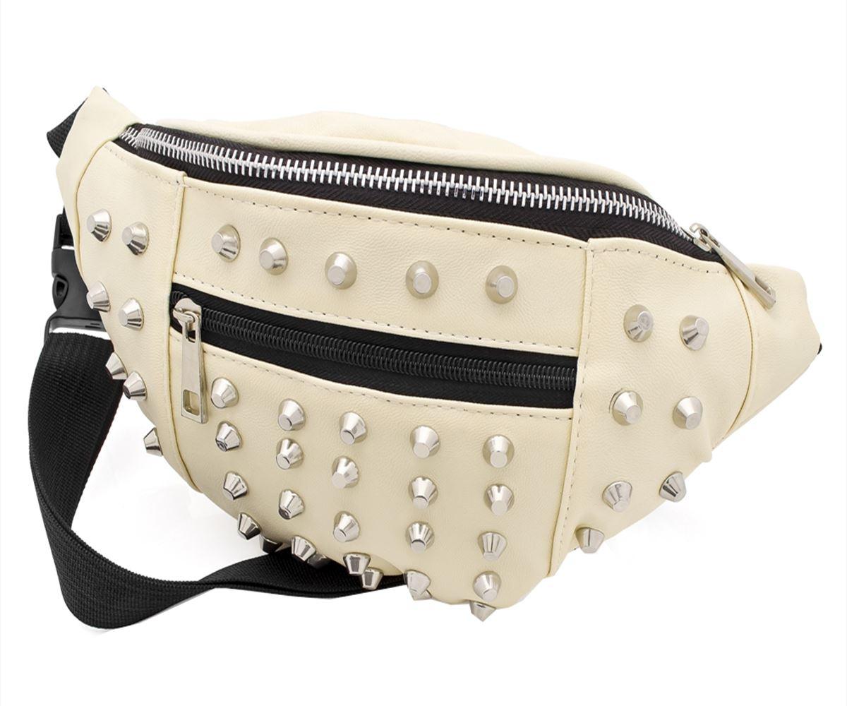 Neue Damen verzierter Brusttaschen Spiky und Brusttaschen