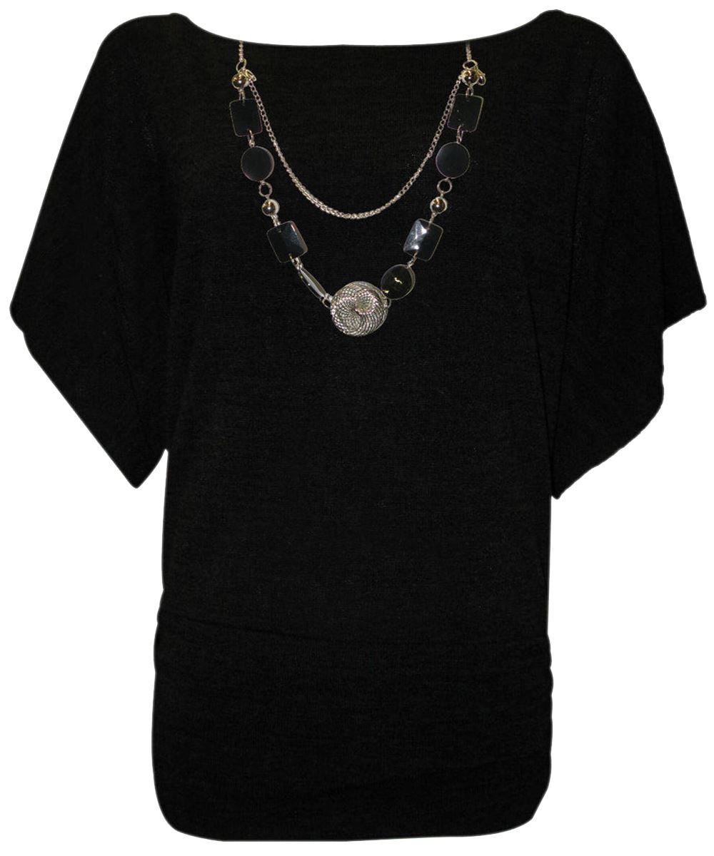 New Ladies Plus Size Knitwear Necklace Plus Size Knitted ...