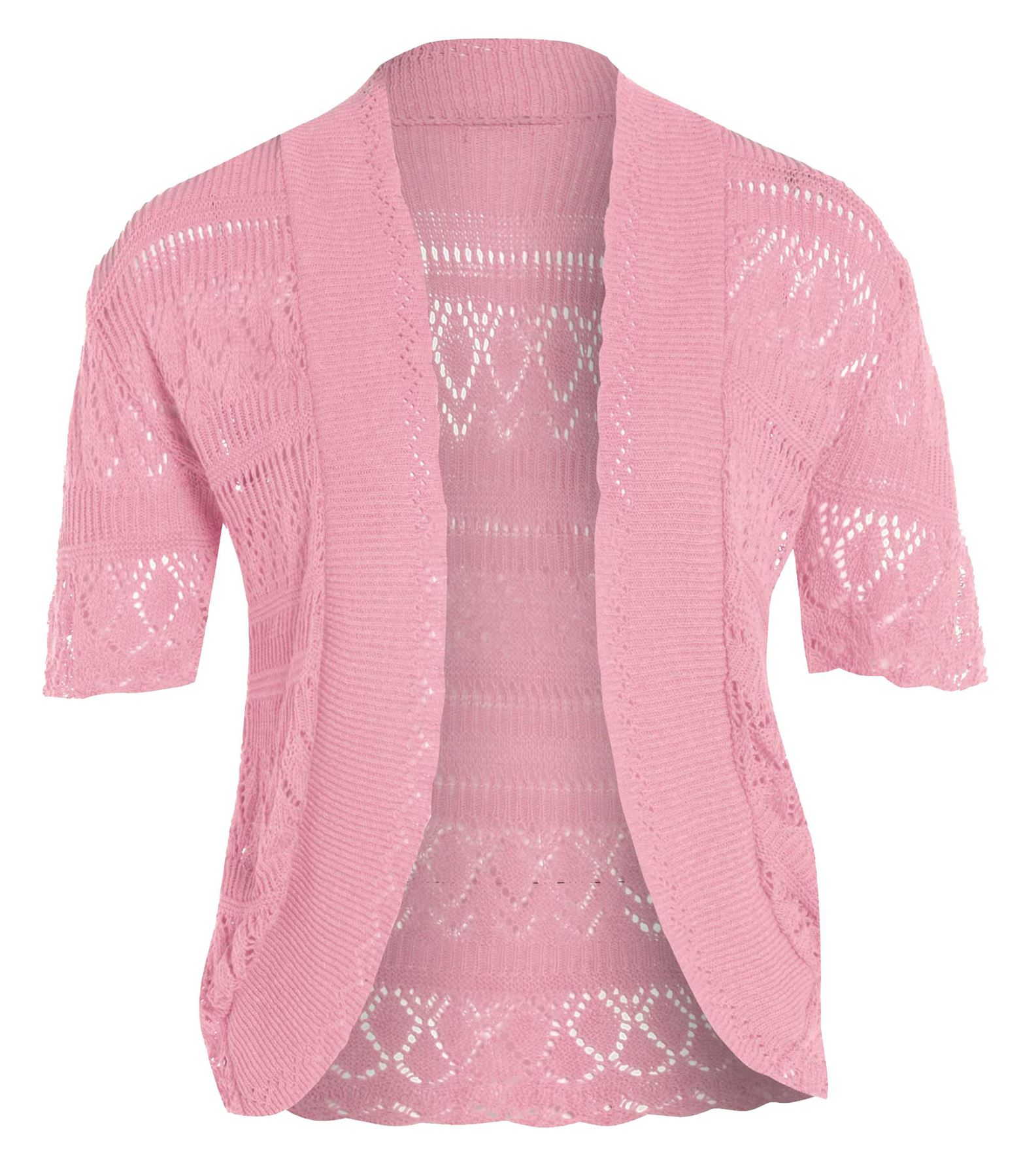 neue damen gestrickte bolero crochet pullover tops 44 54