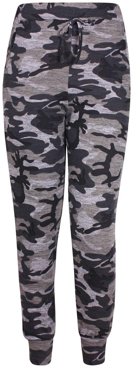New-Womens-Plus-Size-Army-Sweatshirt-Top-Jogging-Bottom-Tracksuit-Set-16-28 thumbnail 4