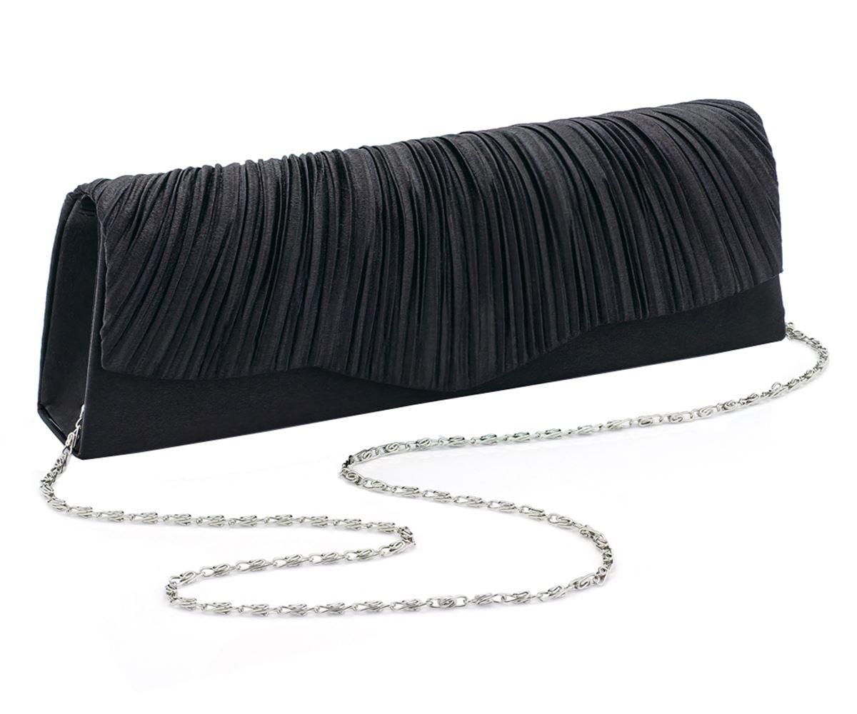 Neuer Frauen Crinkle Blick Ruffle Design-Handtaschen