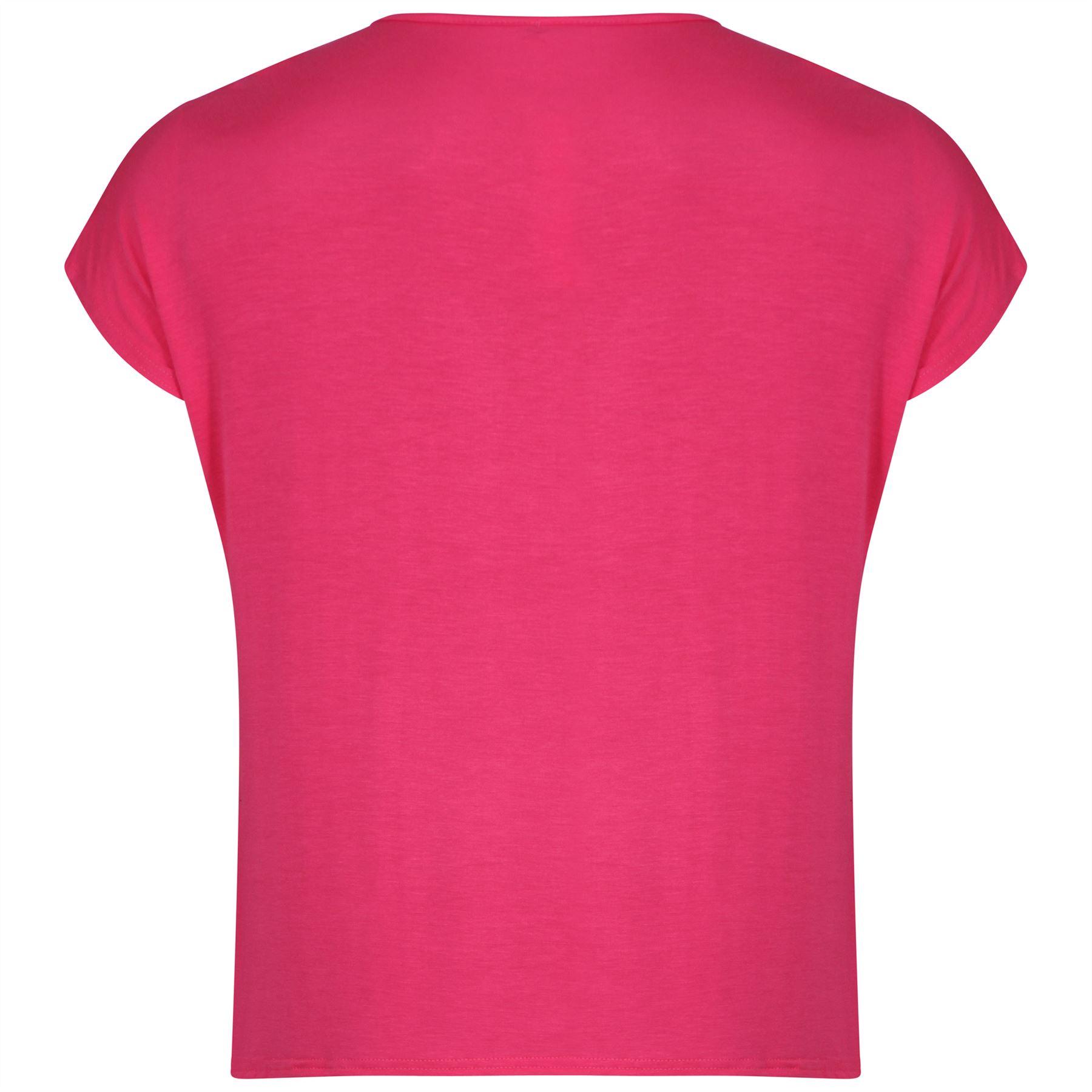New Womens Plus Size Printed Stretch T Shirts Tee Tops Ebay