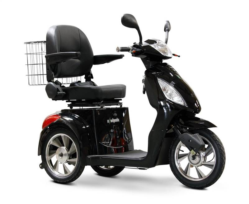 E Wheels Ew 36 High Power Fast 3 Wheel Mobility Scooter Black Ebay
