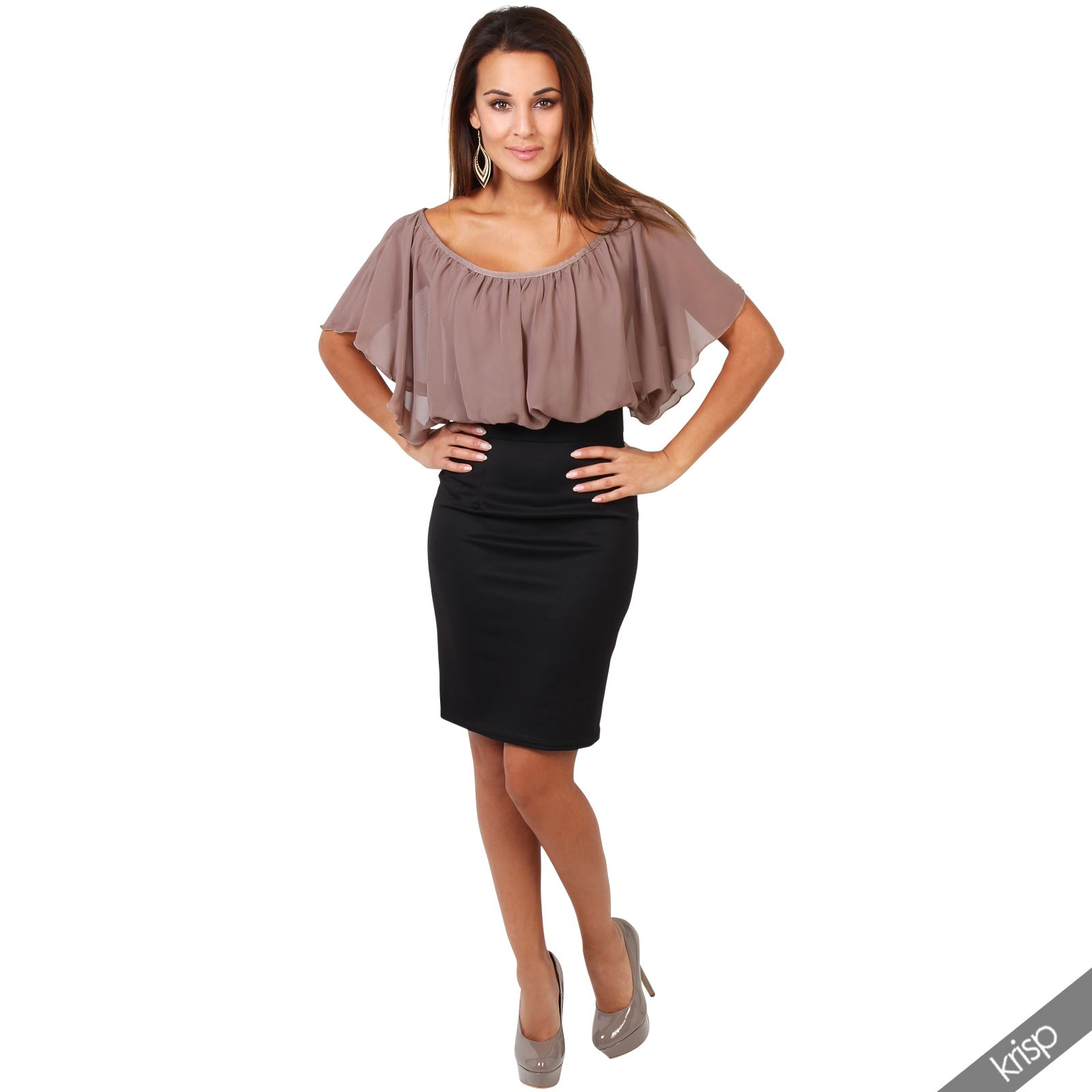 Ladies Pencil Skirts And Tops