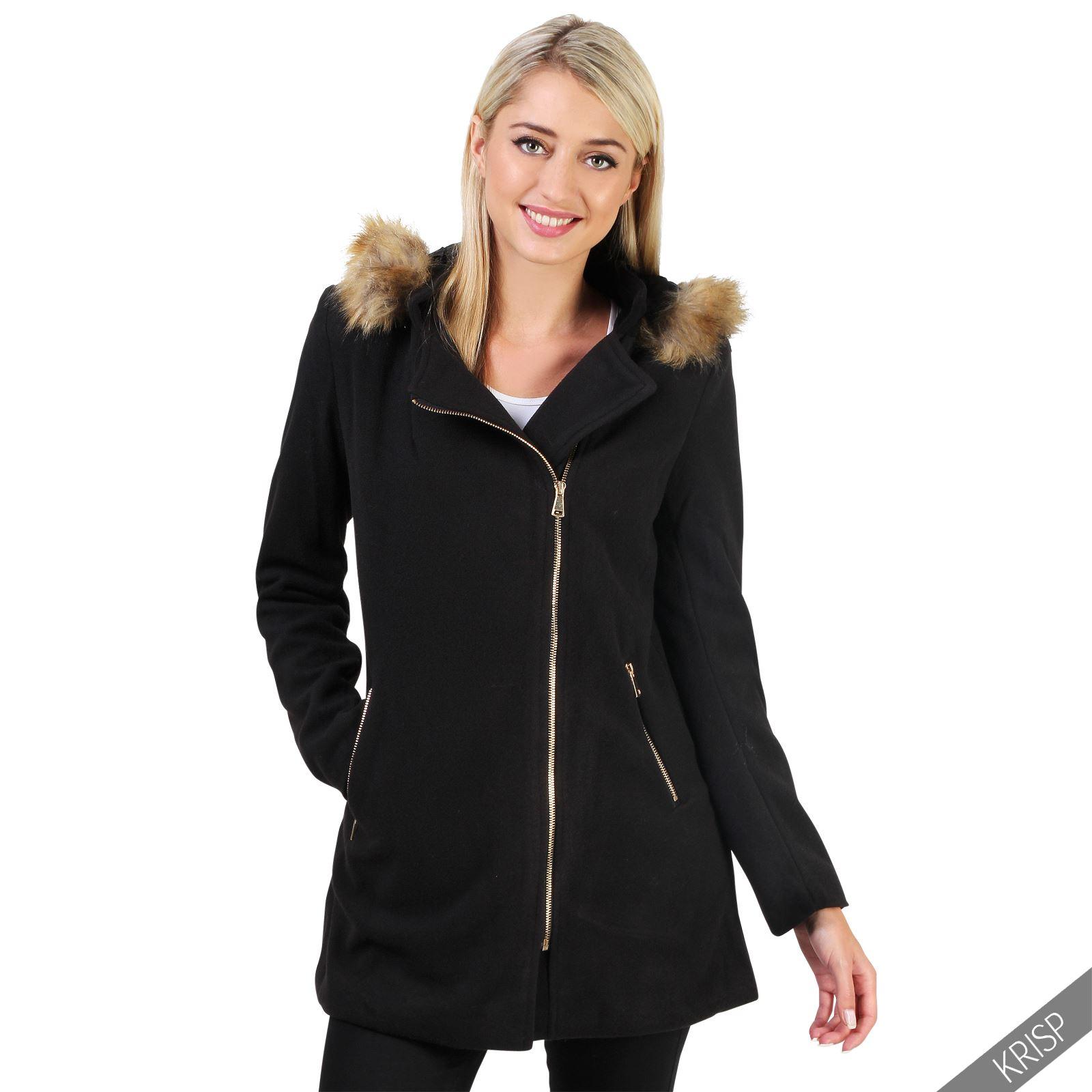 31cfdb2c5f5ed abrigos de pano con capucha mujer