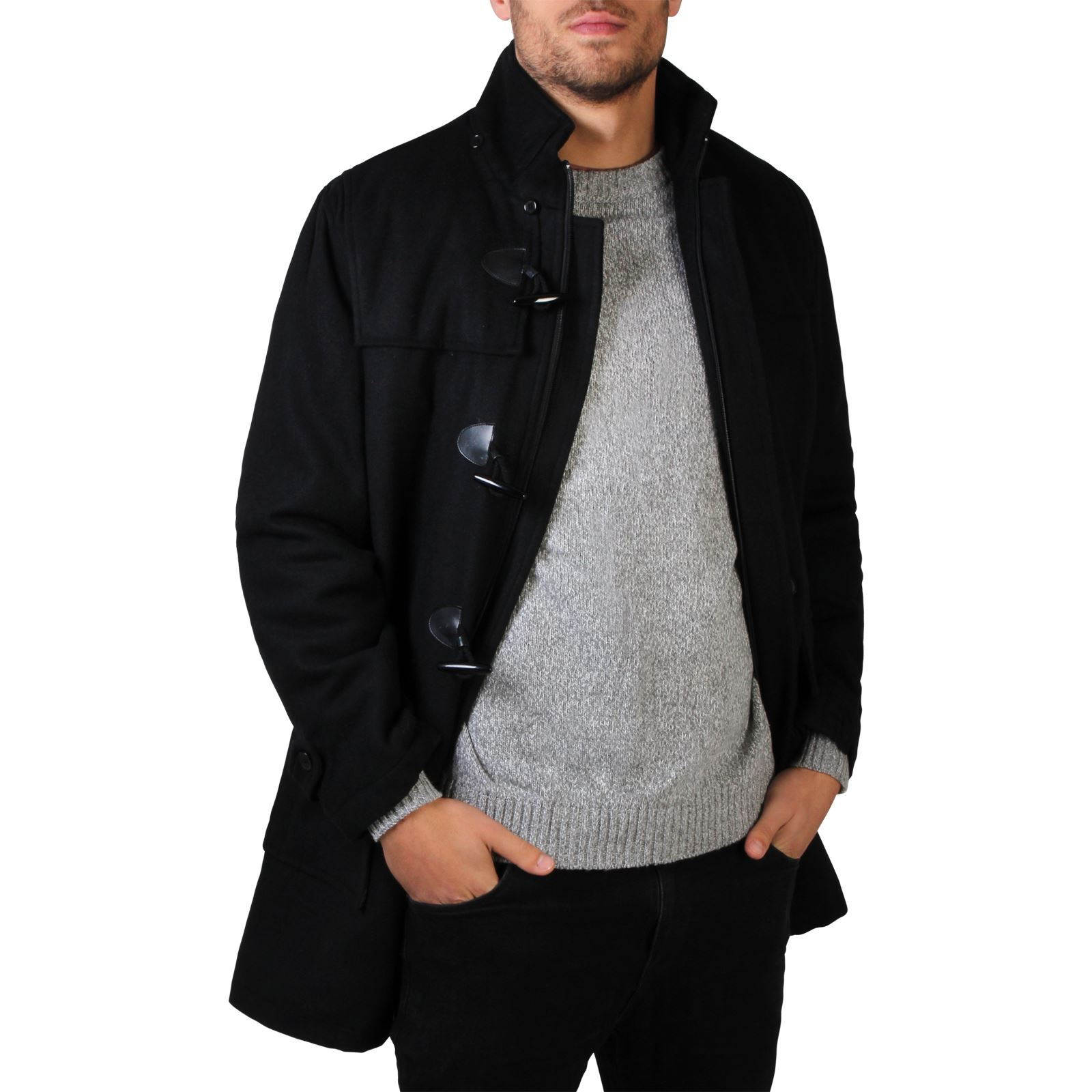 Discover our stylish men's duffle coats at ASOS. Toggles, wool & a hood, all you need this season are warm winter duffle coats from our on trend range! Lacoste L!VE hooded duffle coat in black. $ Selected Homme recycled wool duffle coat with teddy lining. $ Jack & Jones Vintage Duffle Coat With Fleece Back Wool.