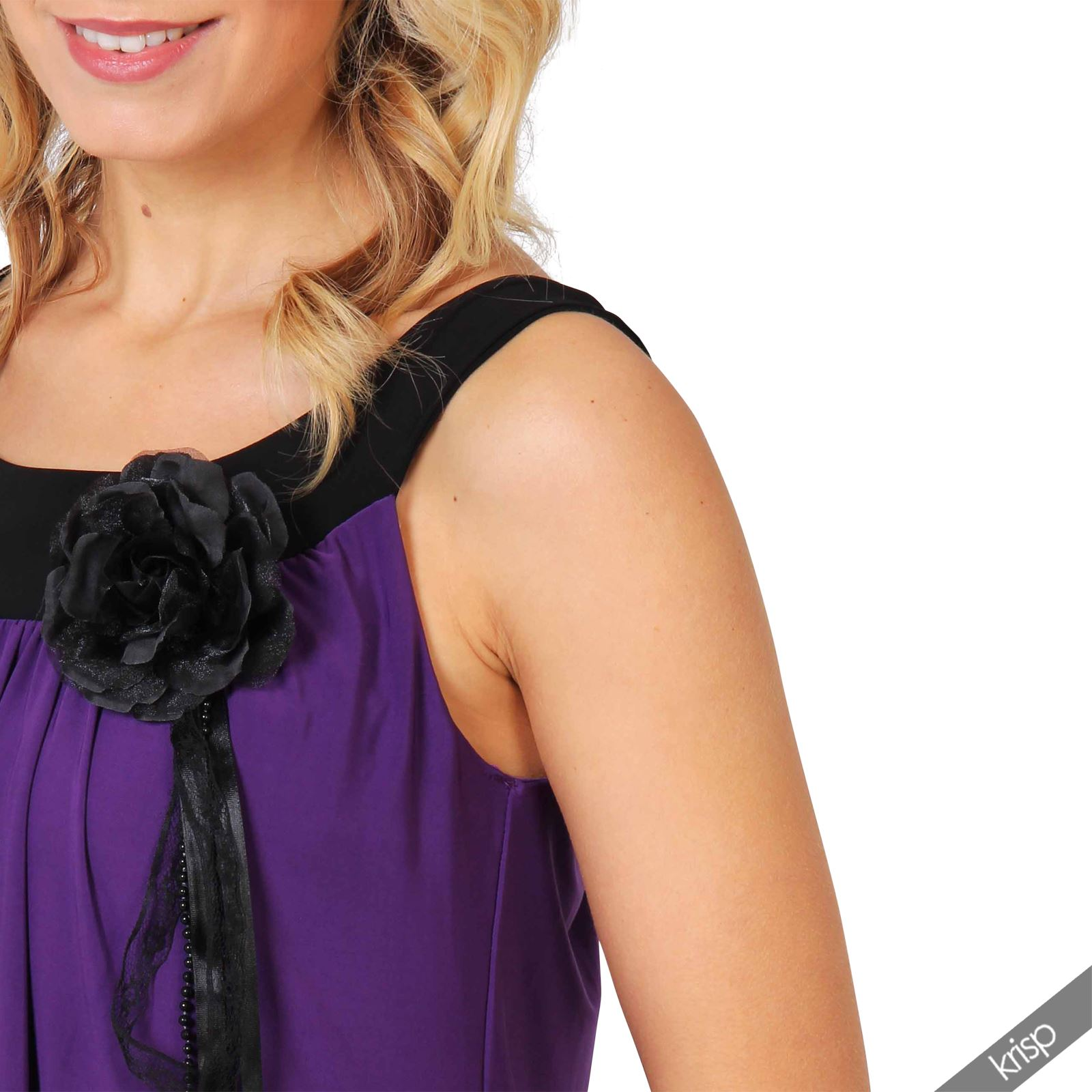 Womens Boho Pleated Bubble Jersey A Line Tunic Dress Party Plus Size 8-20