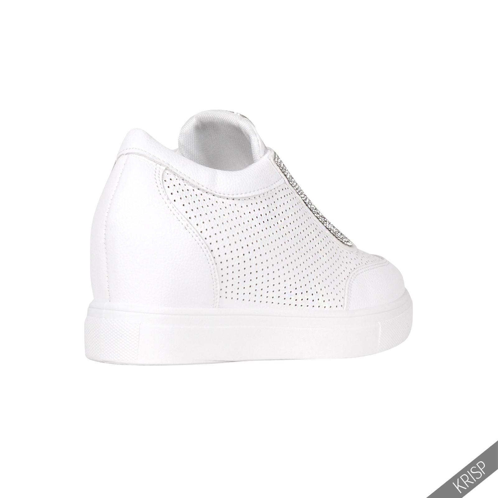 Krisp botines tac n cu a interior zapatillas depotivas botas originales brillo ebay - Sneakers cuna interior ...