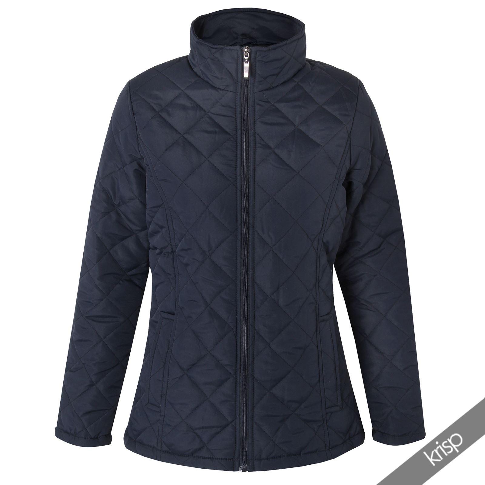 krisp damen leichte jacke steppjacke daunenjacke bergangsjacke sportlich mantel ebay. Black Bedroom Furniture Sets. Home Design Ideas