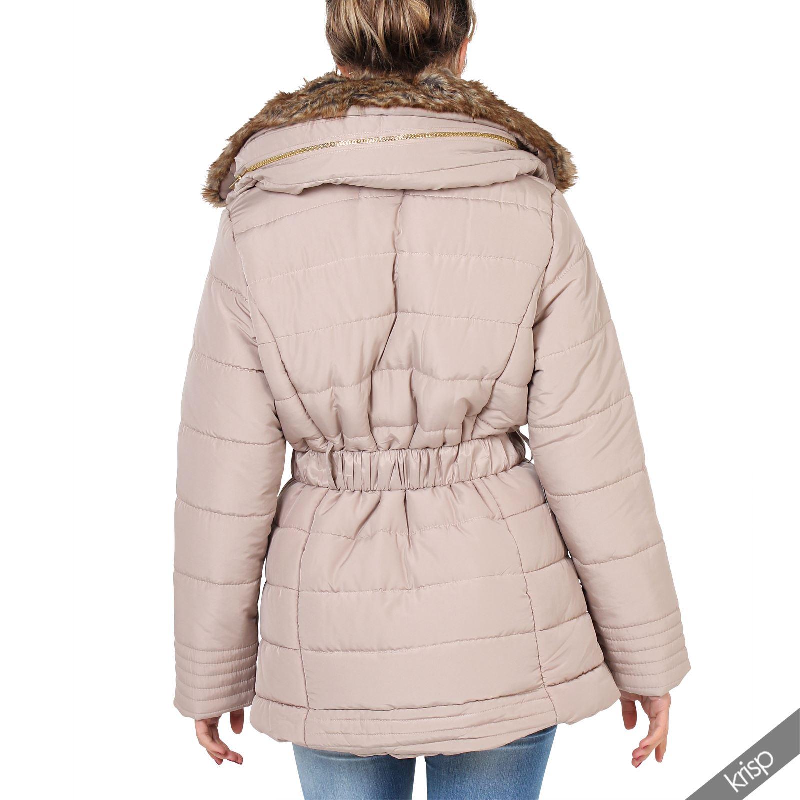 Womens puffa coat