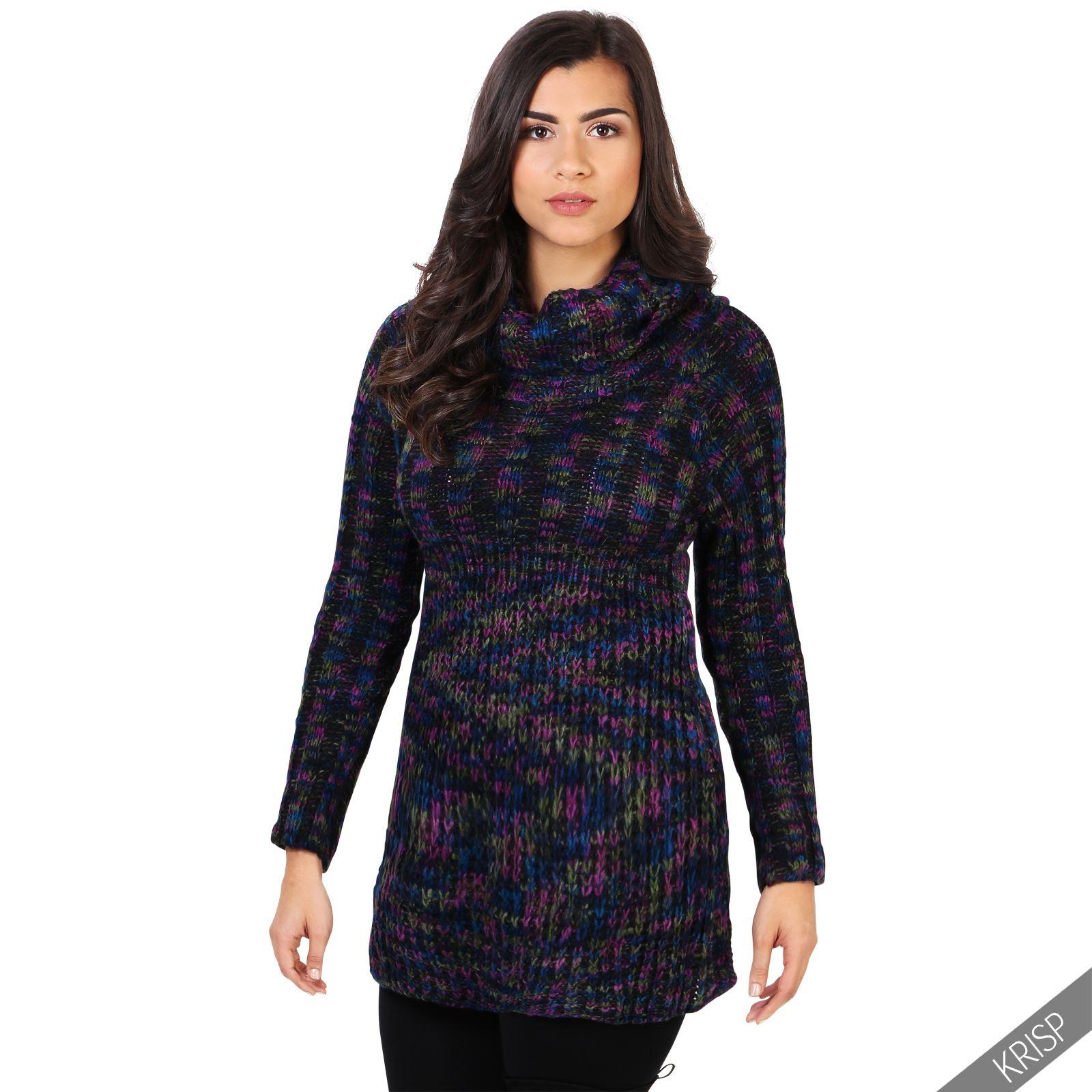 damen gestrickter tunika pullover zopfmuster oversize fit warm kleid kuschelig ebay. Black Bedroom Furniture Sets. Home Design Ideas