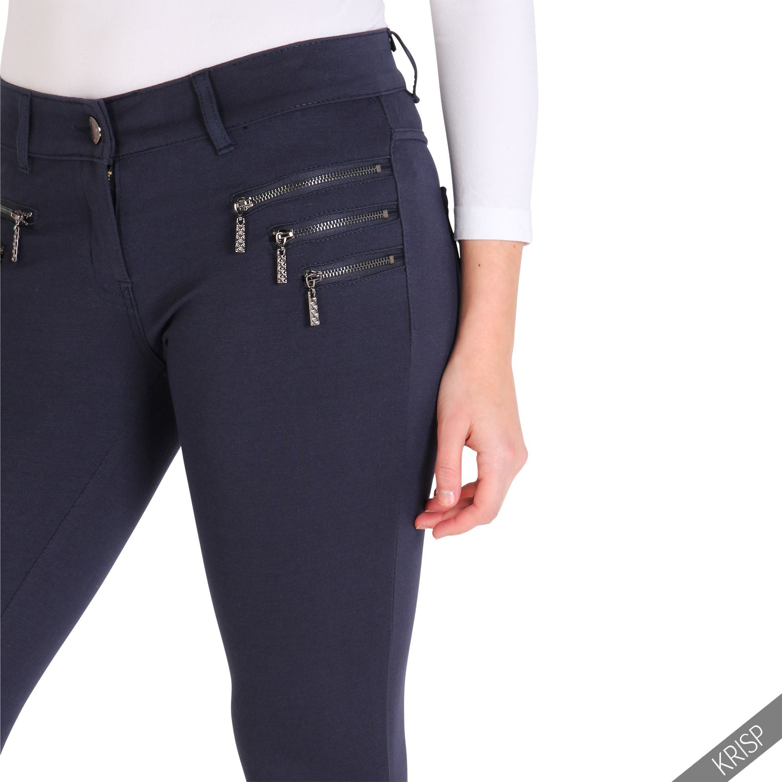 womens stretch skinny fit jeans leggings jeggings smart casual trousers pants ebay. Black Bedroom Furniture Sets. Home Design Ideas