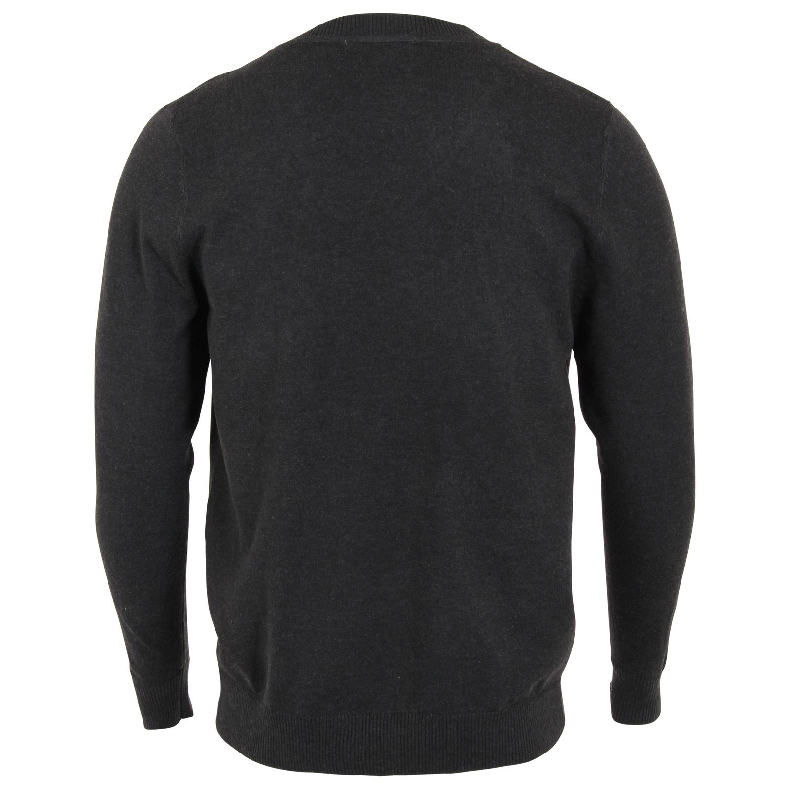 Mens Plain Colour Thin Knit V Neck Fashion Knitted Jumper Sweater Top Pullover