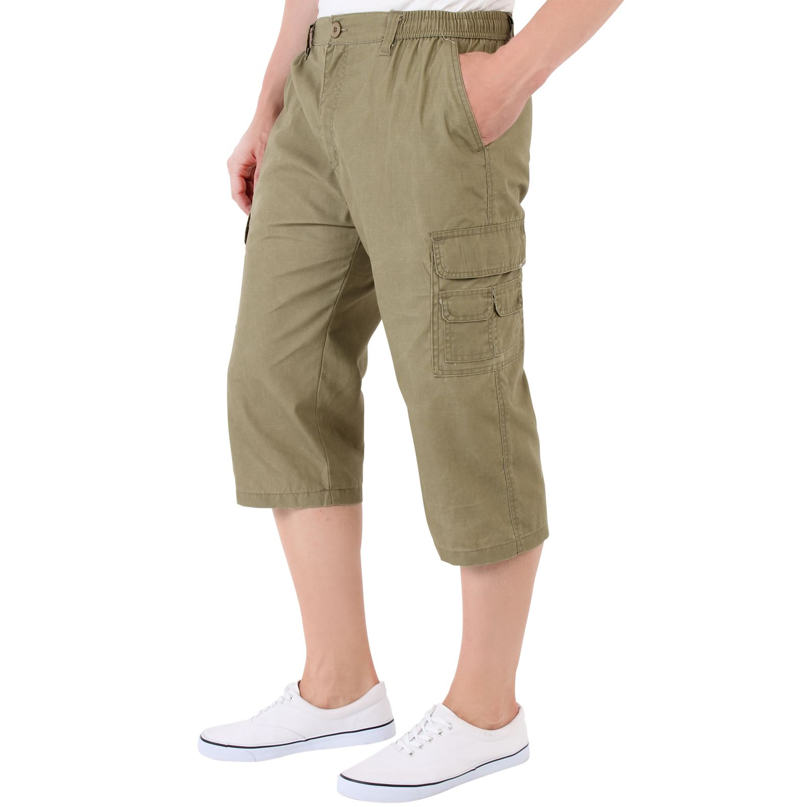 herren cargo bermuda capri shorts kurze hose sommerhose. Black Bedroom Furniture Sets. Home Design Ideas