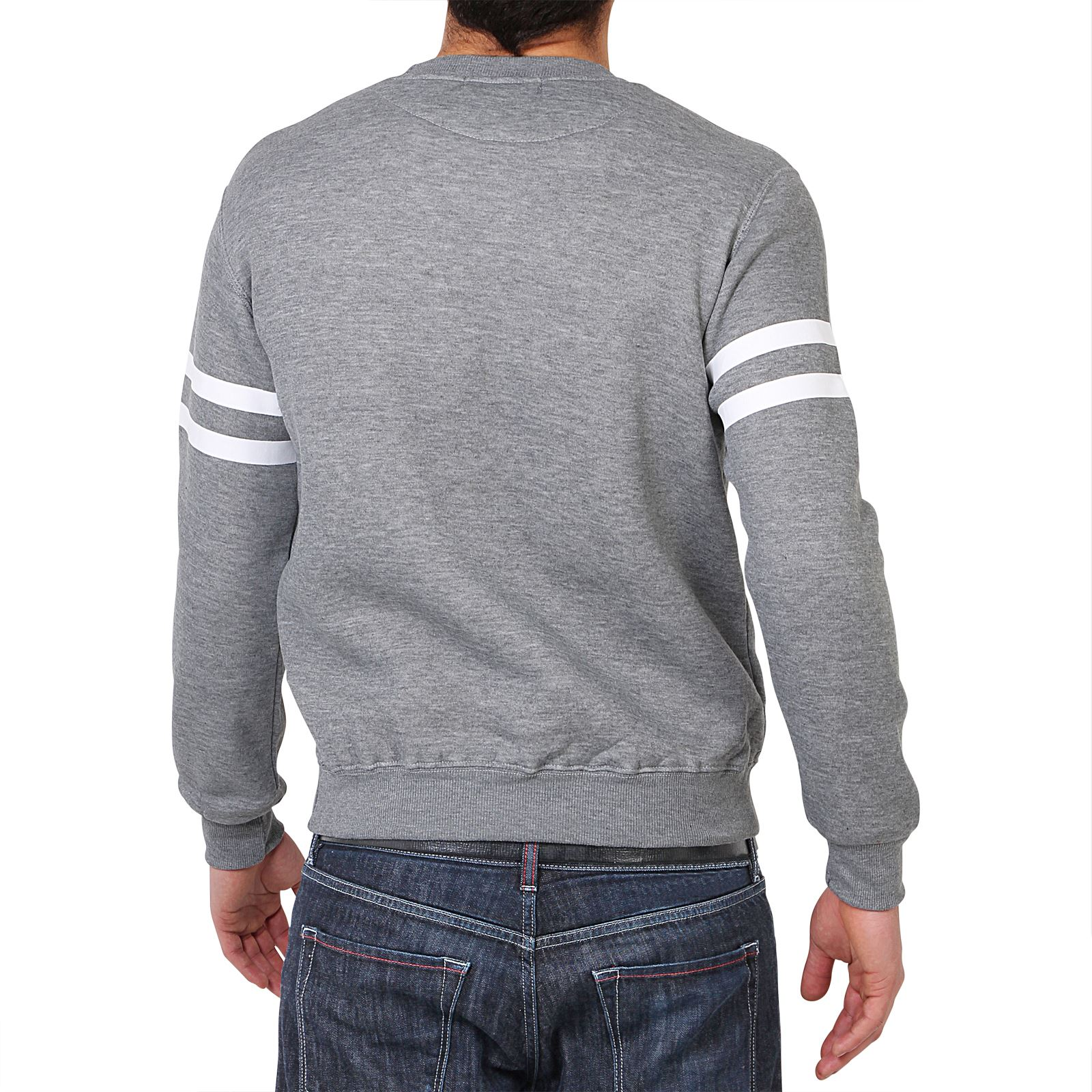 homme sweat shirt pull polaire casual imprim sportif classique ebay. Black Bedroom Furniture Sets. Home Design Ideas
