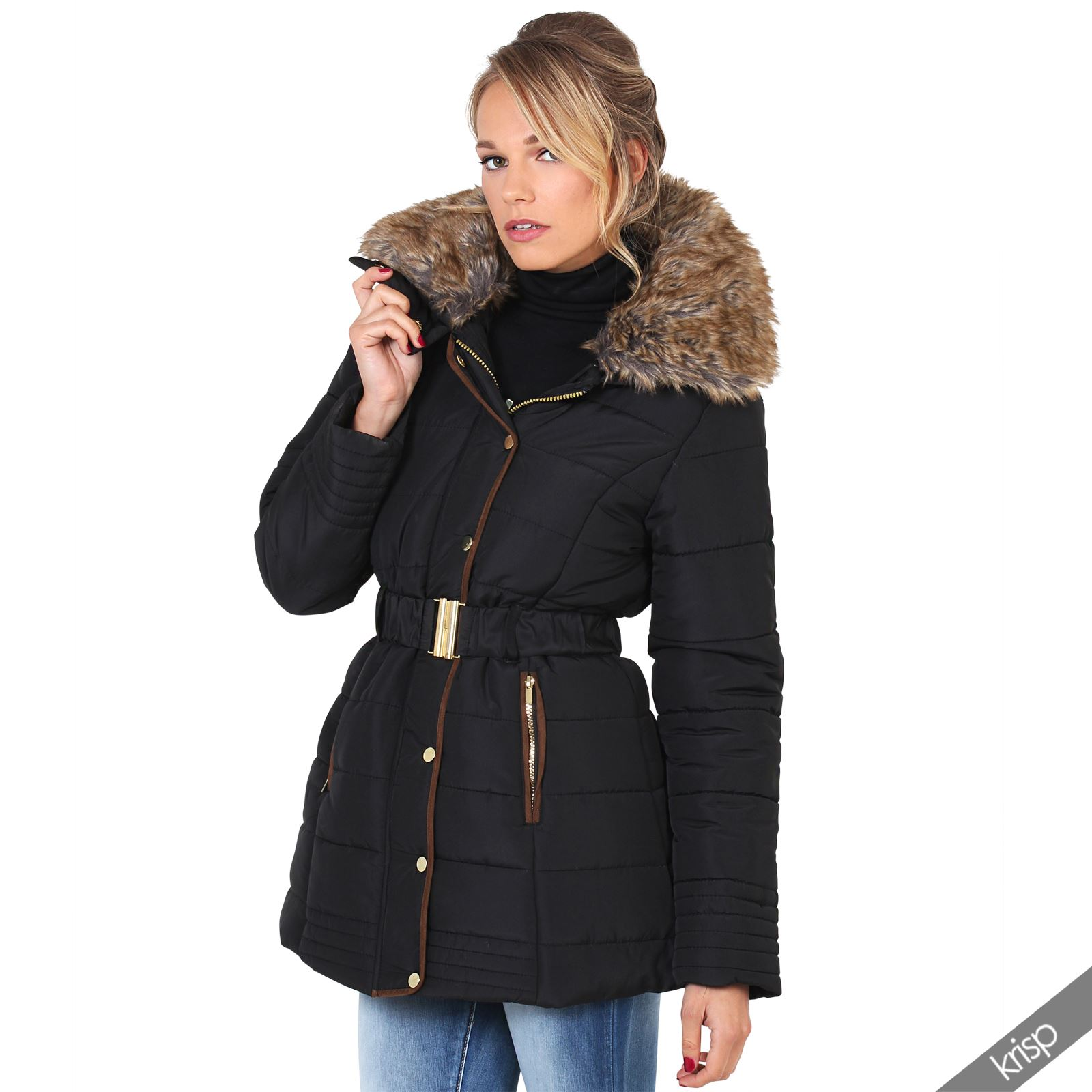 Find great deals on Womens Puffer Coats & Quilted Jackets at Kohl's today! Sponsored Links Women's Halitech Faux-Fur Hooded Heavyweight Puffer Jacket. sale. $ Regular $ Women's Sebby Collection Hooded Long Quilted Vest. sale. $ Regular $