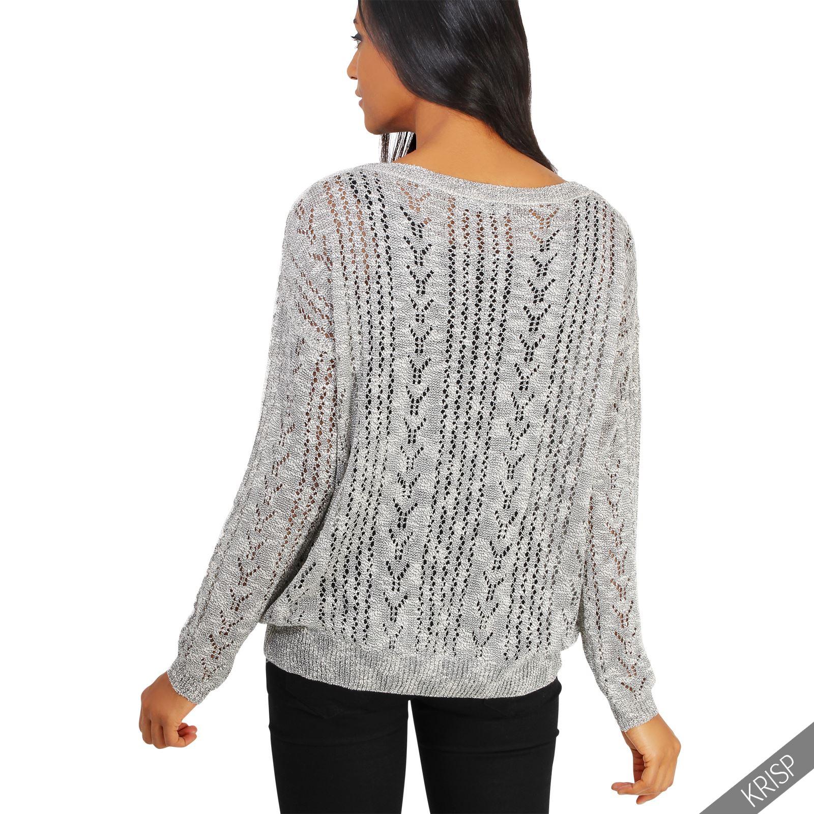 Knitting Pattern Boyfriend Jumper : Womens Ladies Chunky Knit Baggy Boyfriend Vintage Cardigan Button Sweater Jum...
