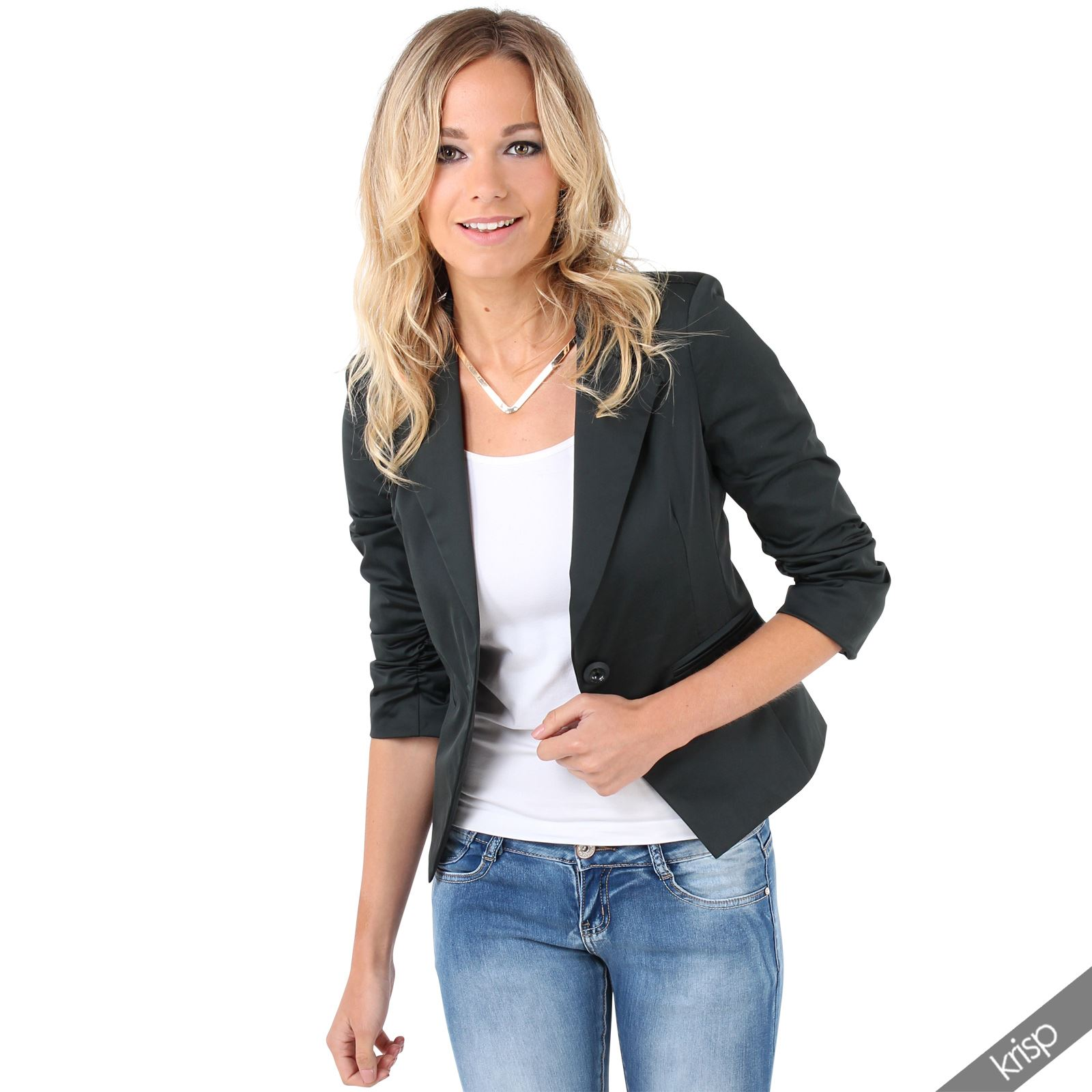 Find great deals on eBay for crop blazers. Shop with confidence.