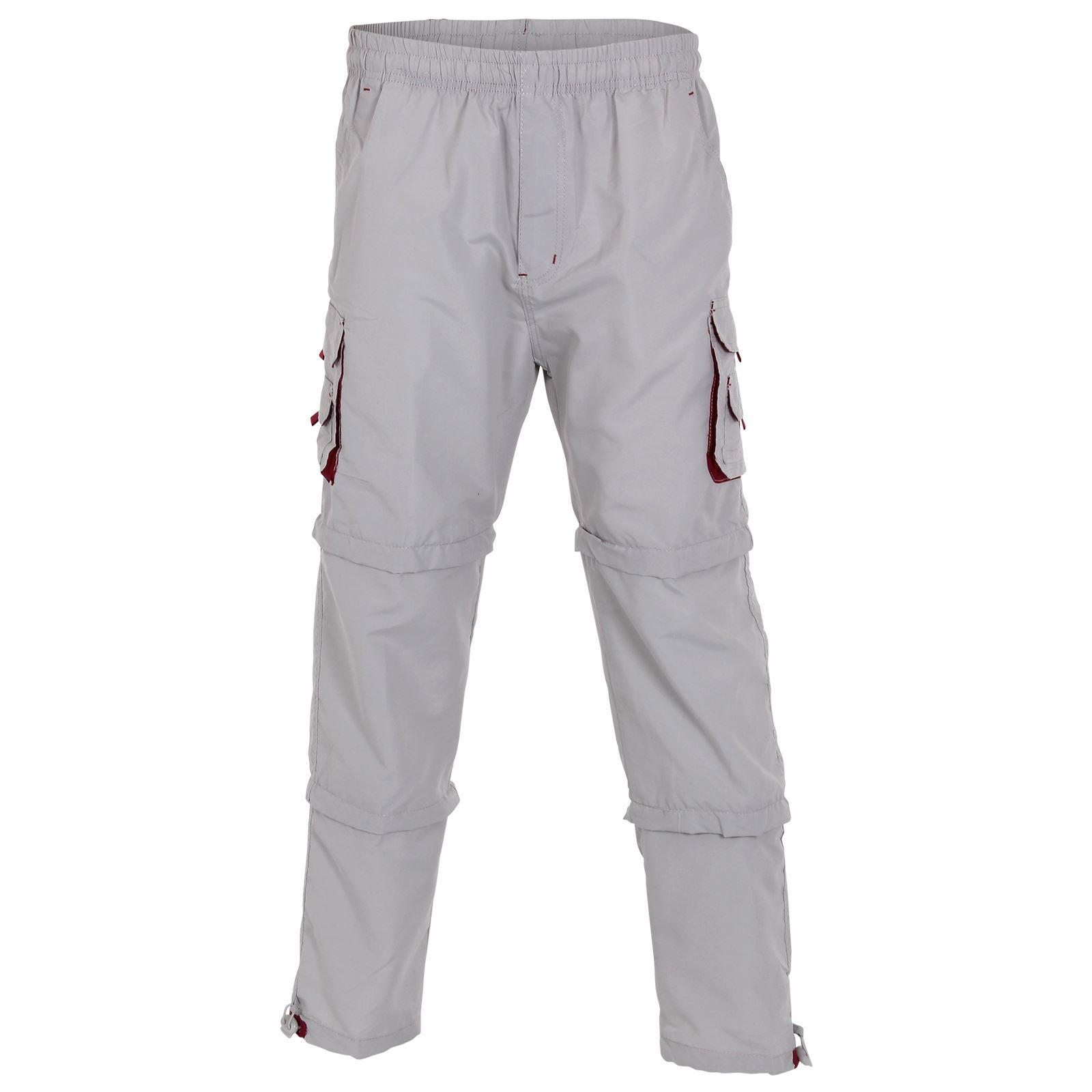 pantalon homme cargo militaire 3 en 1 zip transformable bermuda 3 4 short ebay. Black Bedroom Furniture Sets. Home Design Ideas