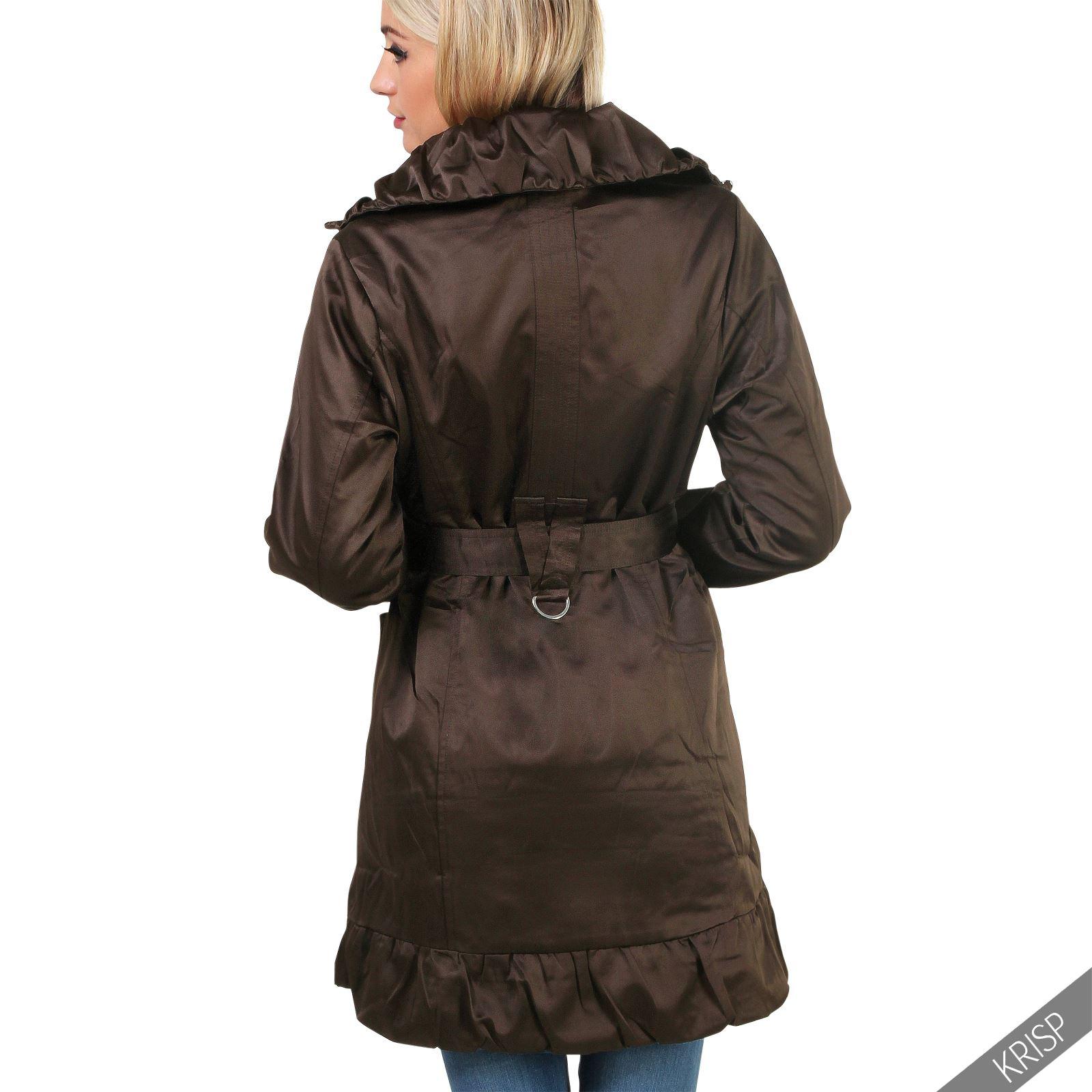 Women Ladies Detachable Hood Warm Long Winter Parka Puffer Jacket ...
