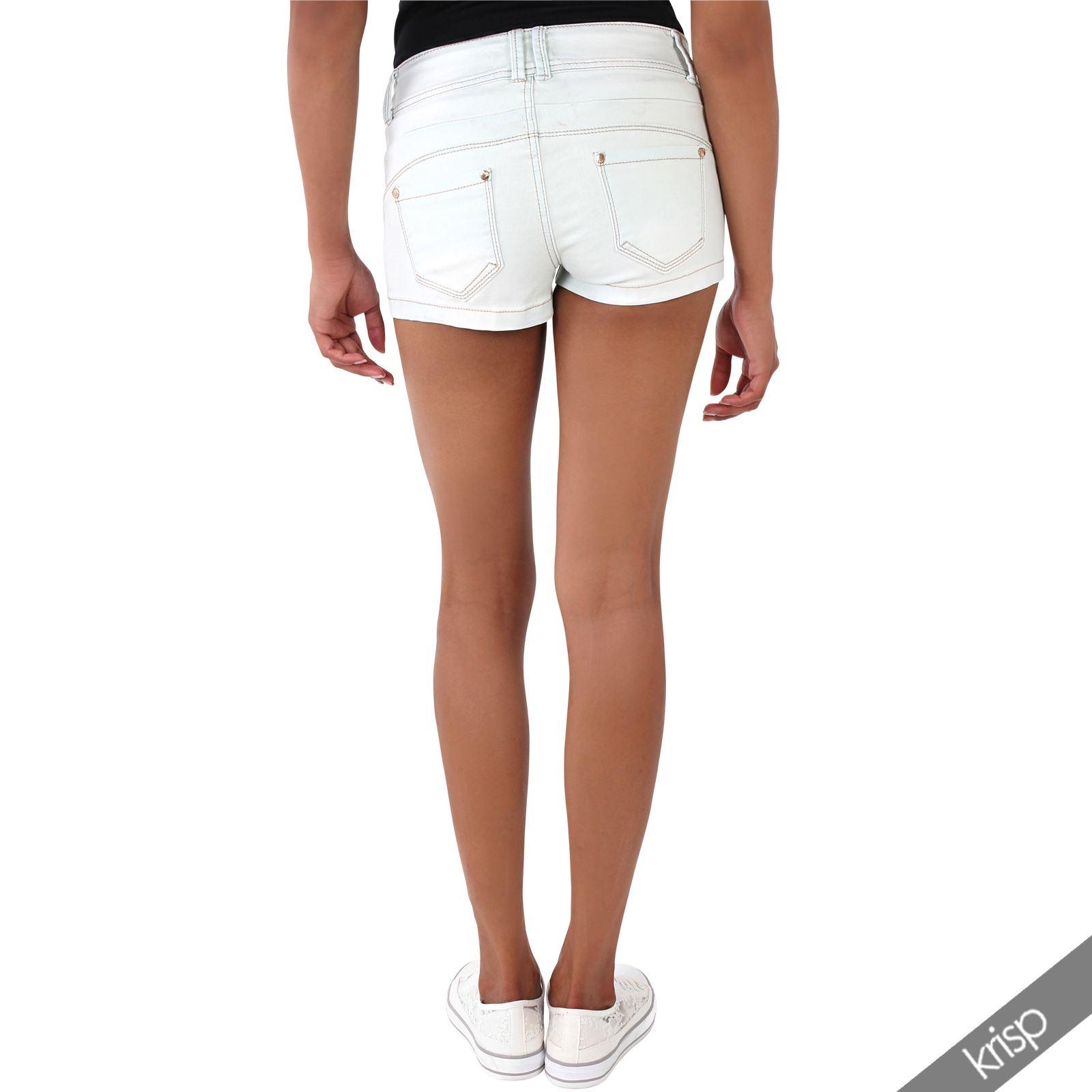 denim micro shorts - photo #7
