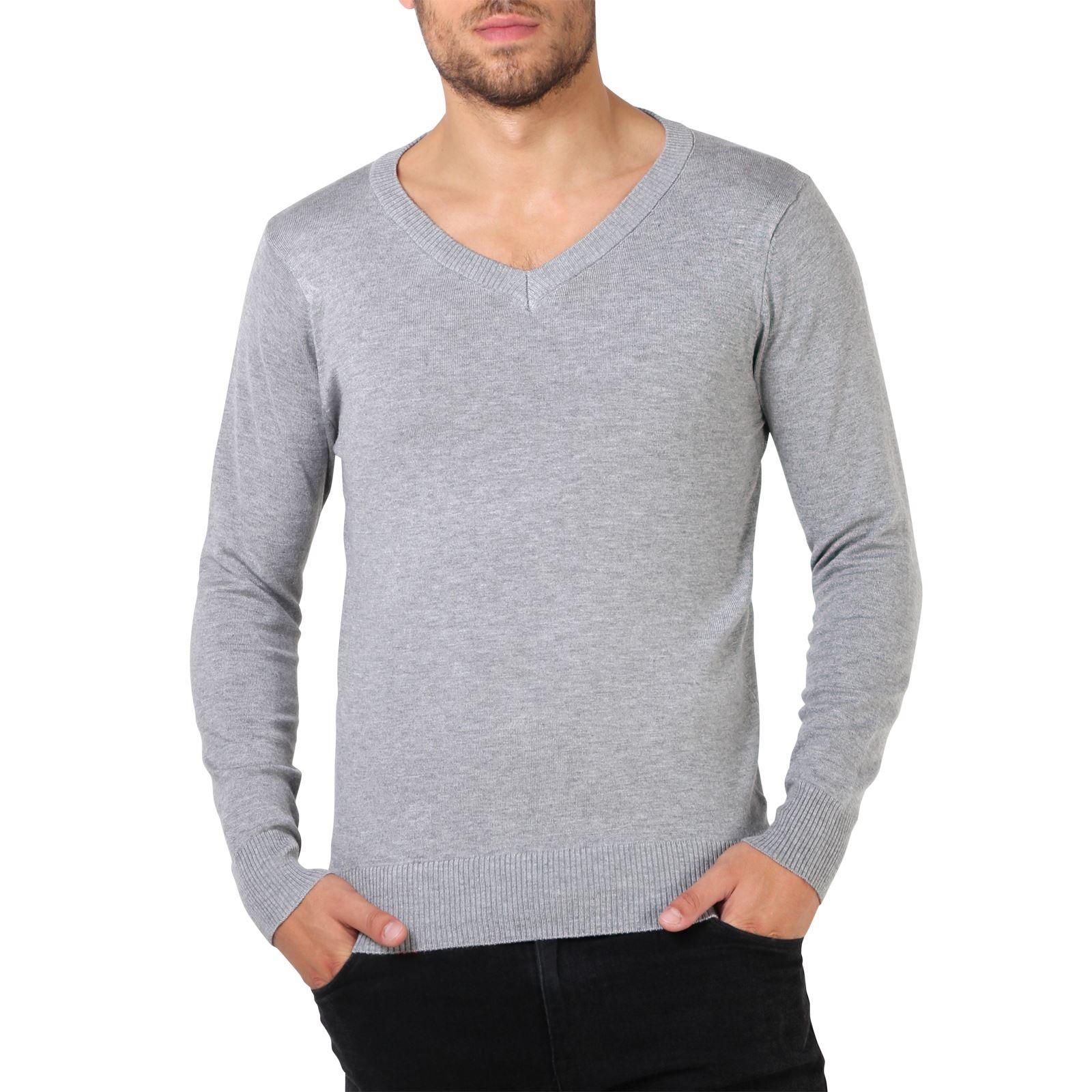 Mens knit hoodie