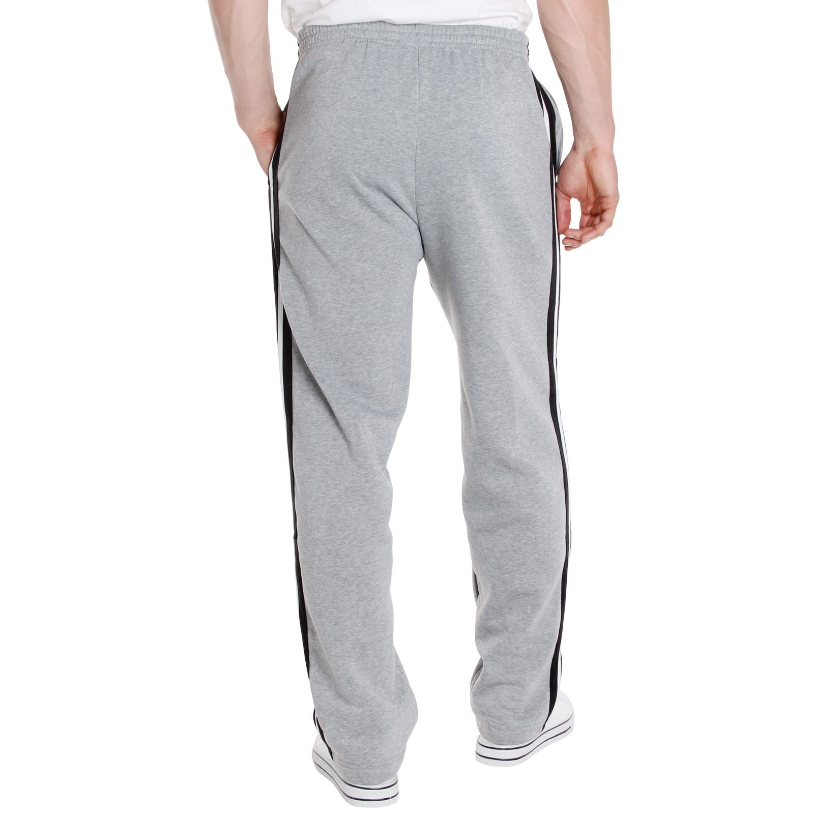 Homme pantalon rayure survetement bas jogging decontracte sport gym - Bas jogging homme ...