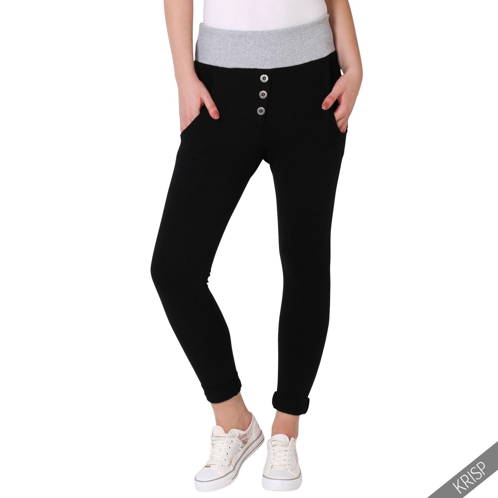 femme pantalon taille haute ample yoga d tente casual ebay. Black Bedroom Furniture Sets. Home Design Ideas
