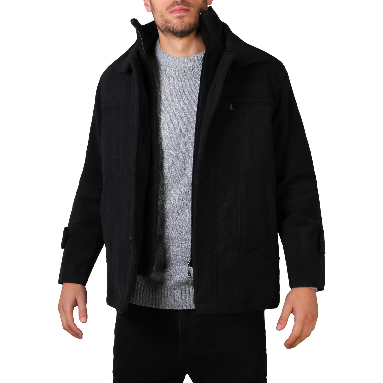 Discover jackets for men and men's coats with ASOS. Shop from a range of styles, from leather jackets, trench and college jackets with ASOS.