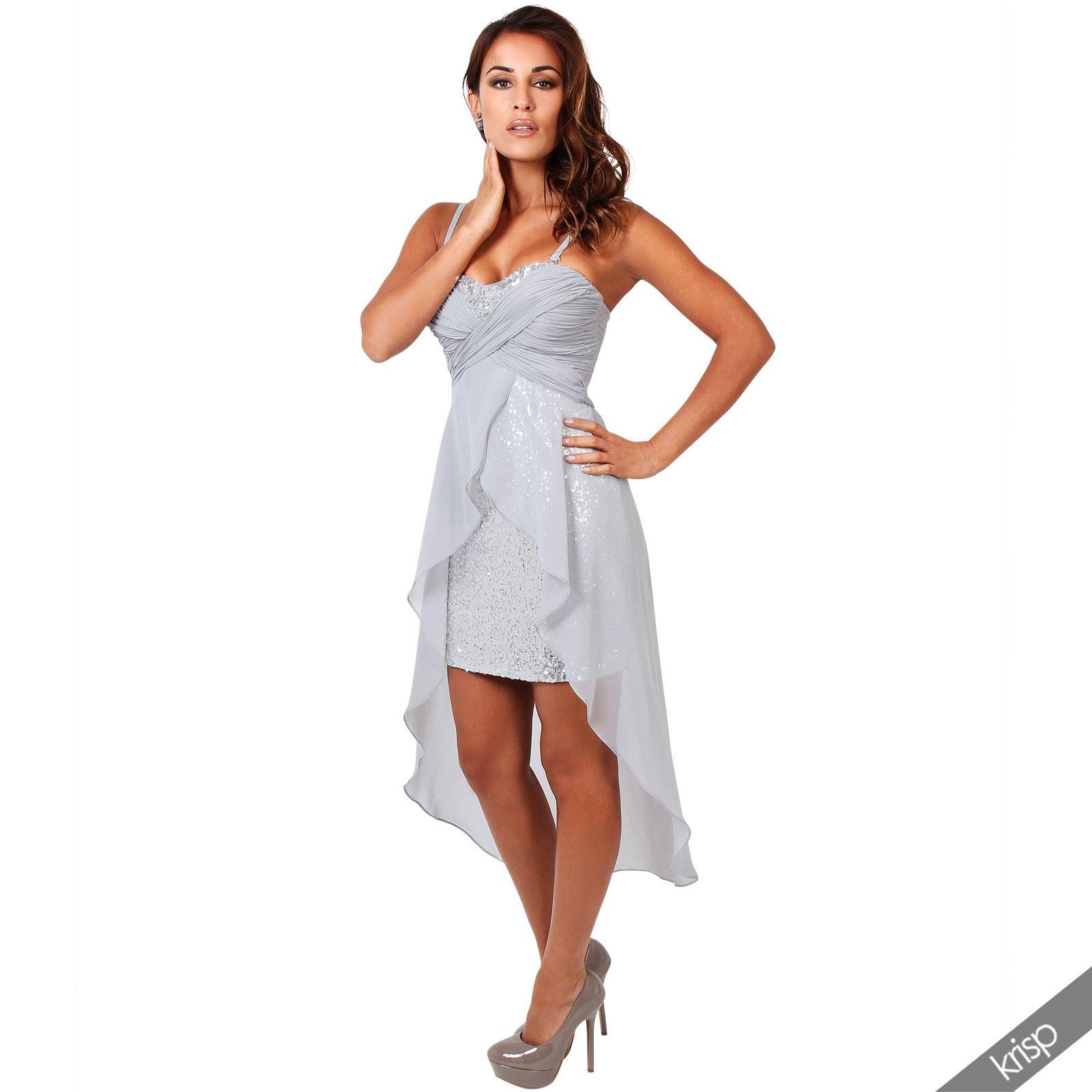 Sequin Boob Tube Dress