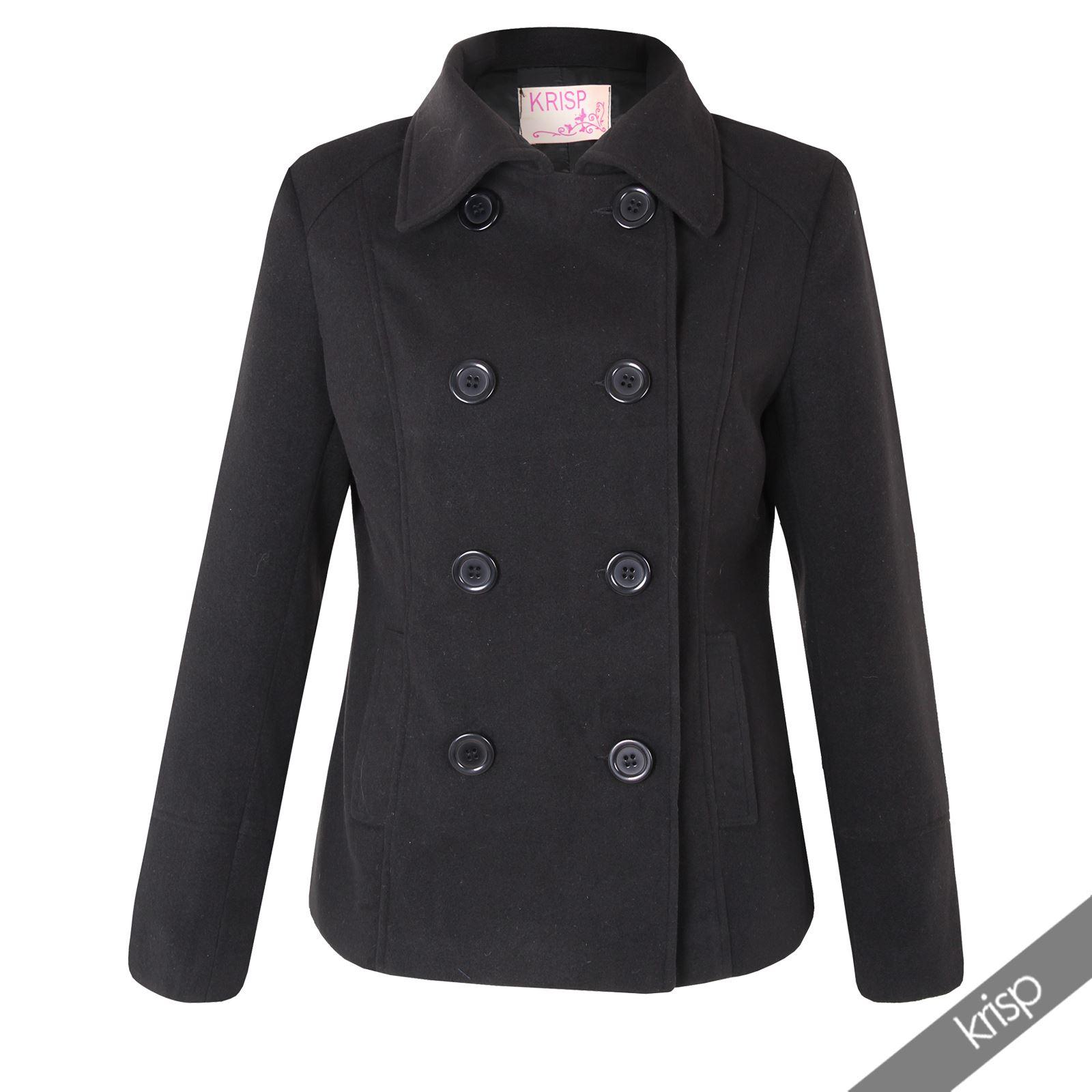 Womens reefer jacket