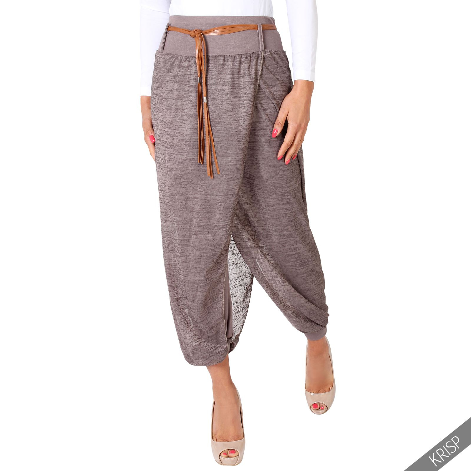 Browse a range of Ladies Cropped Trousers and select from a range of colours & sizes. Shop online for free delivery or in-store collection at Bonmarché. Womens. Clothing. Trousers & Shorts. Crop Trousers. Crop Trousers Team with a T-shirt and sandals for an on-trend summer outfit. Review Rating View £