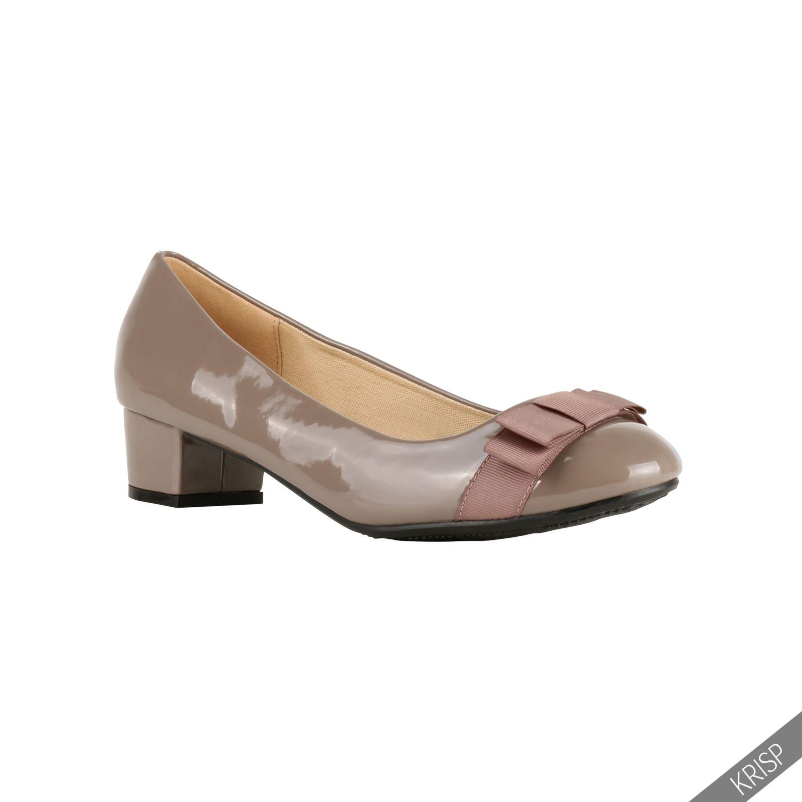 Block Heel Ballerina Shoes