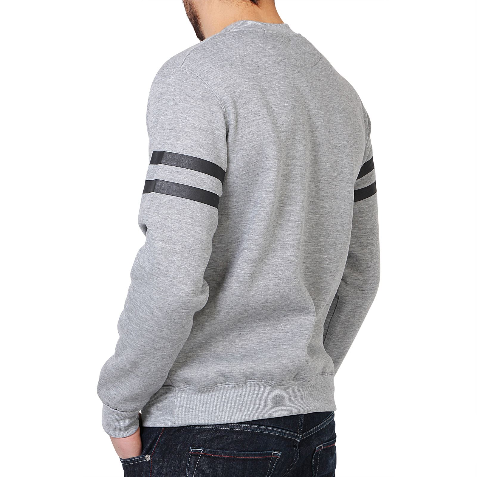 homme sweat shirt pull polaire casual imprim sportif. Black Bedroom Furniture Sets. Home Design Ideas