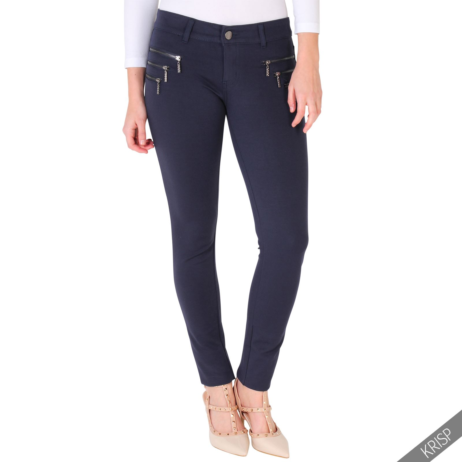 womens stretch skinny fit jeans jeggings leggings casual smart pants trousers. Black Bedroom Furniture Sets. Home Design Ideas