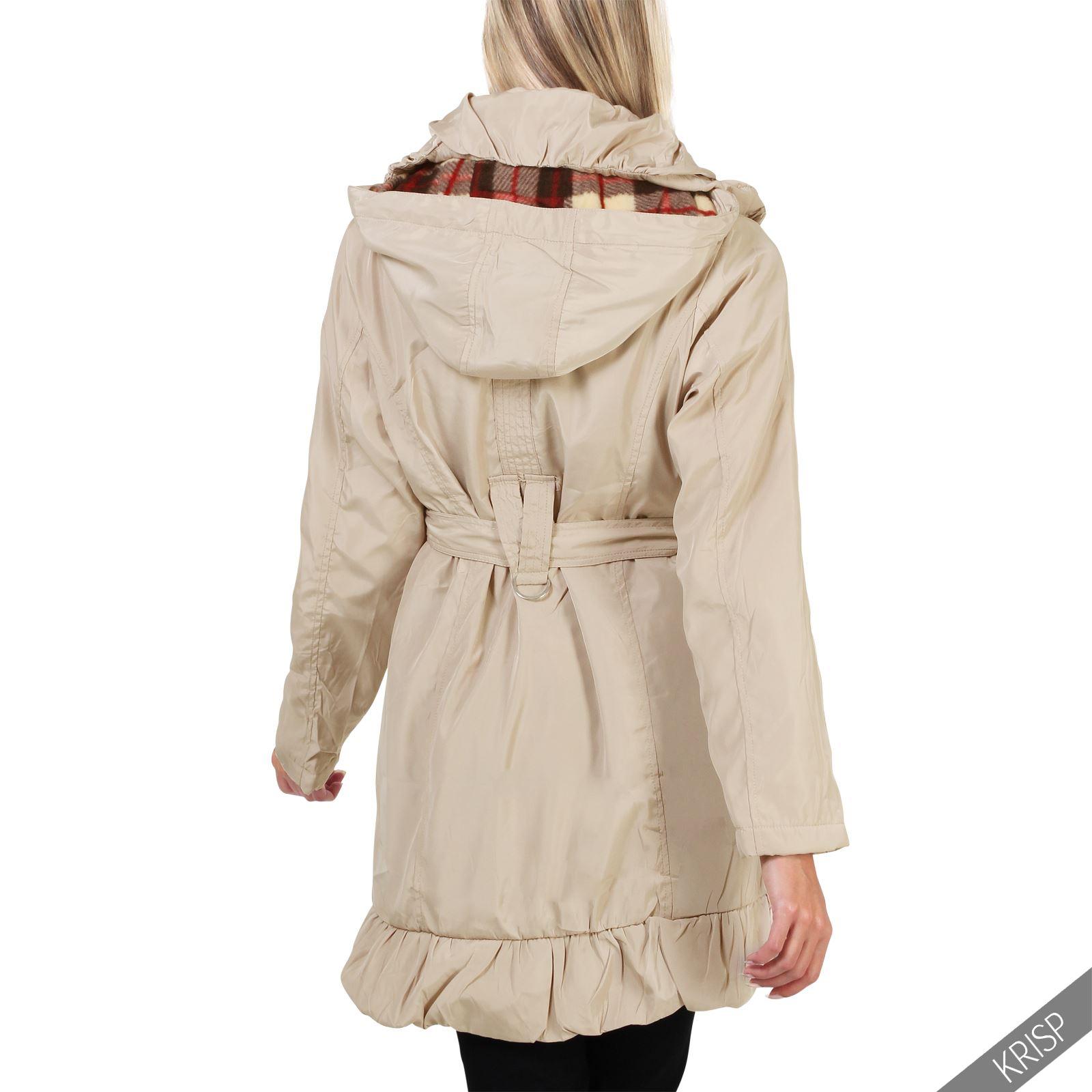 Women Ladies Detachable Hood Warm Long Winter Parka Puffer