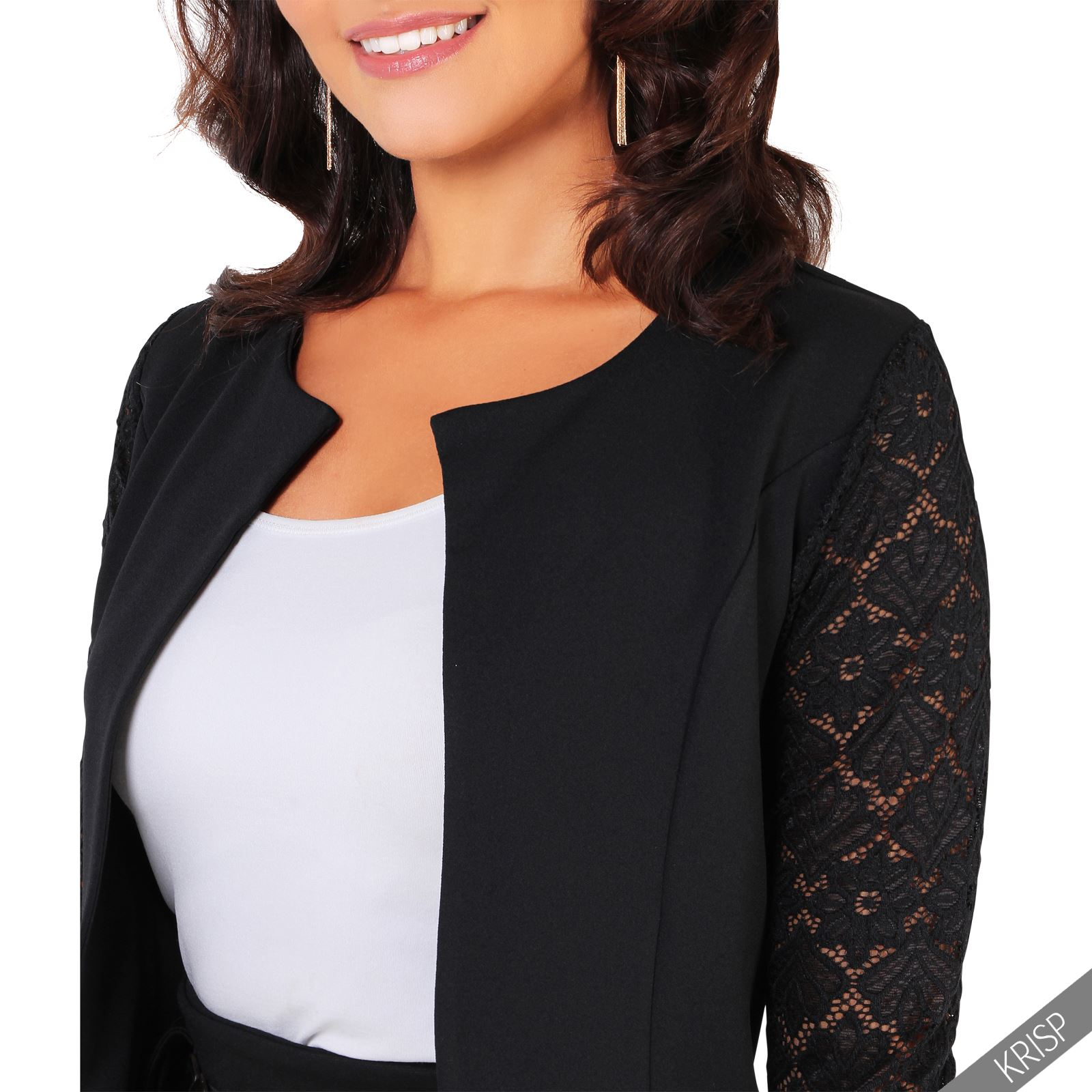 Find the right women's vests and jacket to accentuate a formal pair of women's pants for an elegant look. The latest jackets are also a great accessory for a dress. If you're attending a wedding or holiday party, find a slim and shapely blazer to throw over a cocktail dress or a floral maxi.