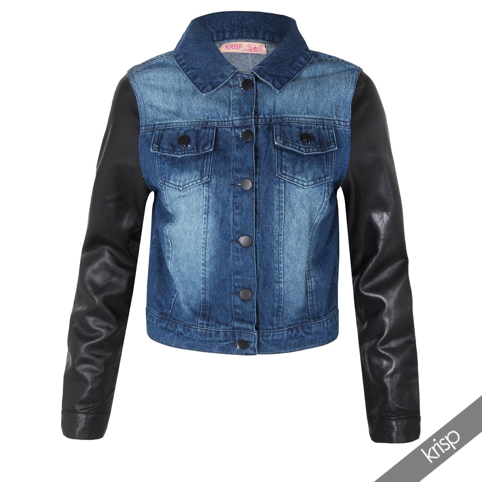 black denim summer retro 80s casual jacket