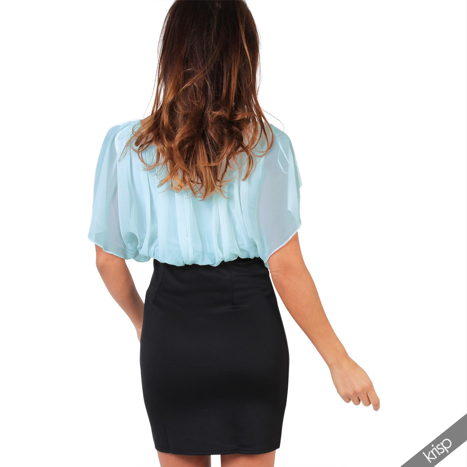 Blouse Pencil Dress 107
